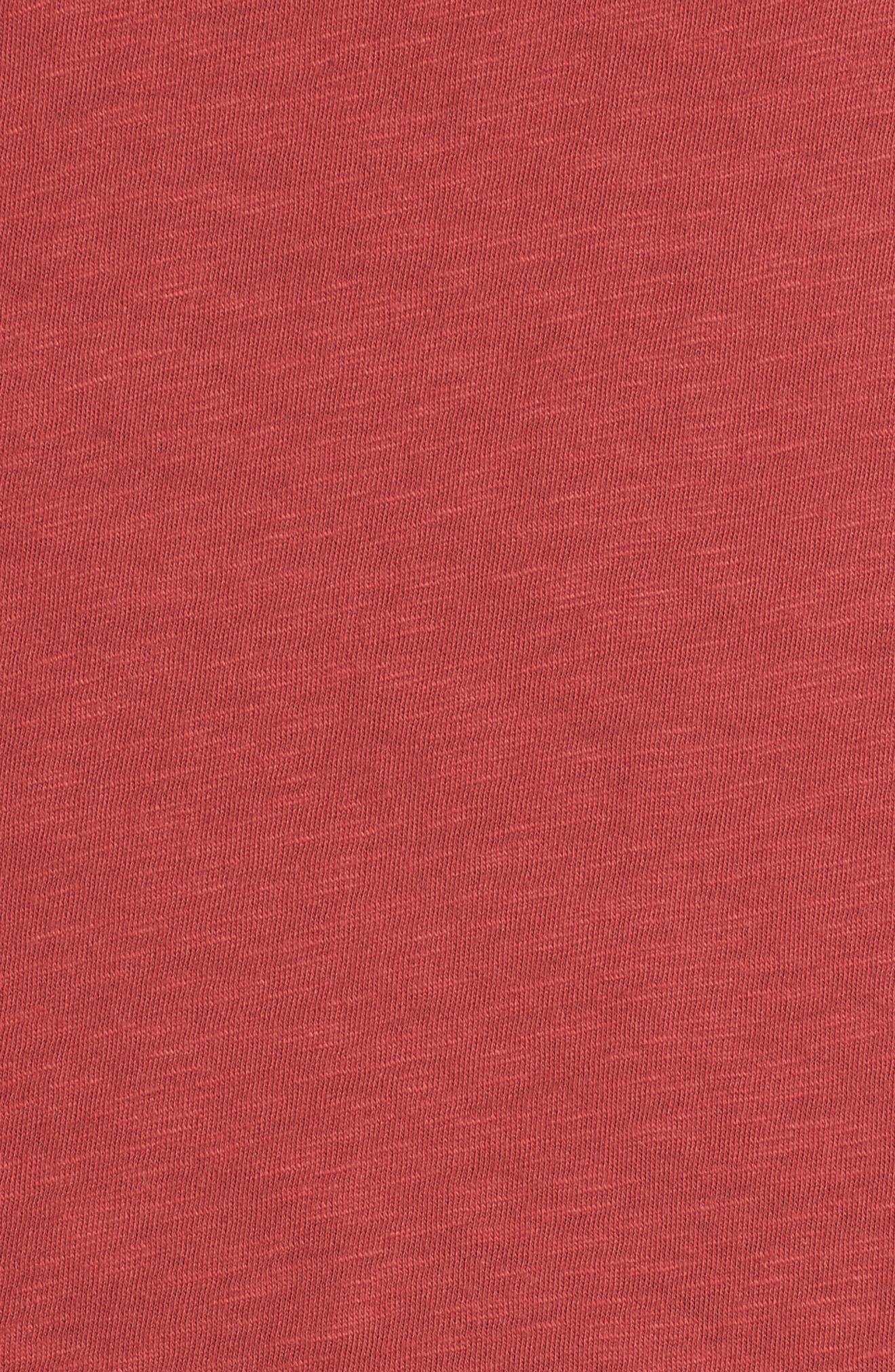 Pleat Sleeve Cotton Tee,                             Alternate thumbnail 25, color,