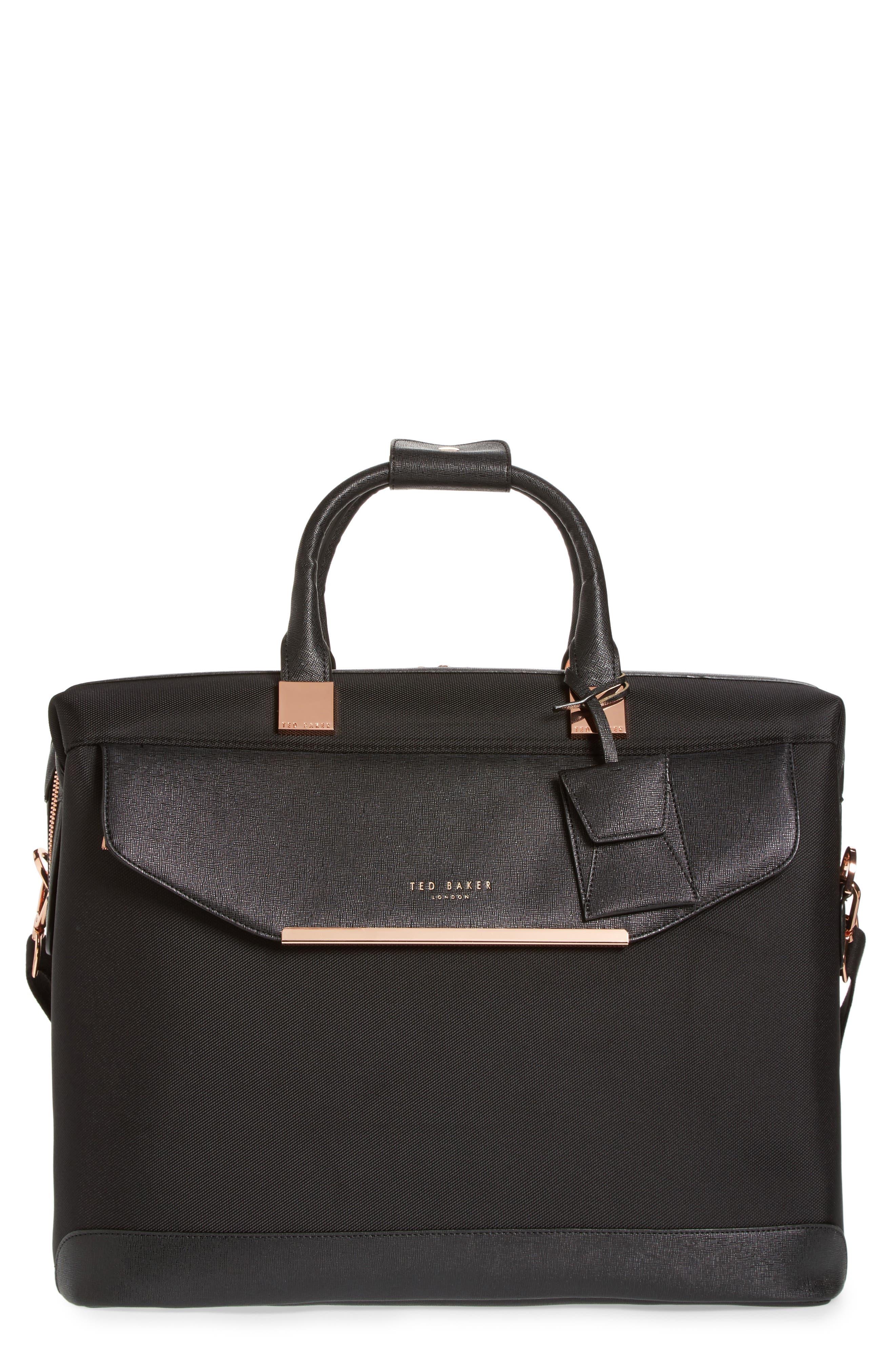 Small Albany Duffel Bag,                             Main thumbnail 1, color,                             BLACK