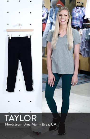 Katya High Waist Recycled Crop Leggings, sales video thumbnail
