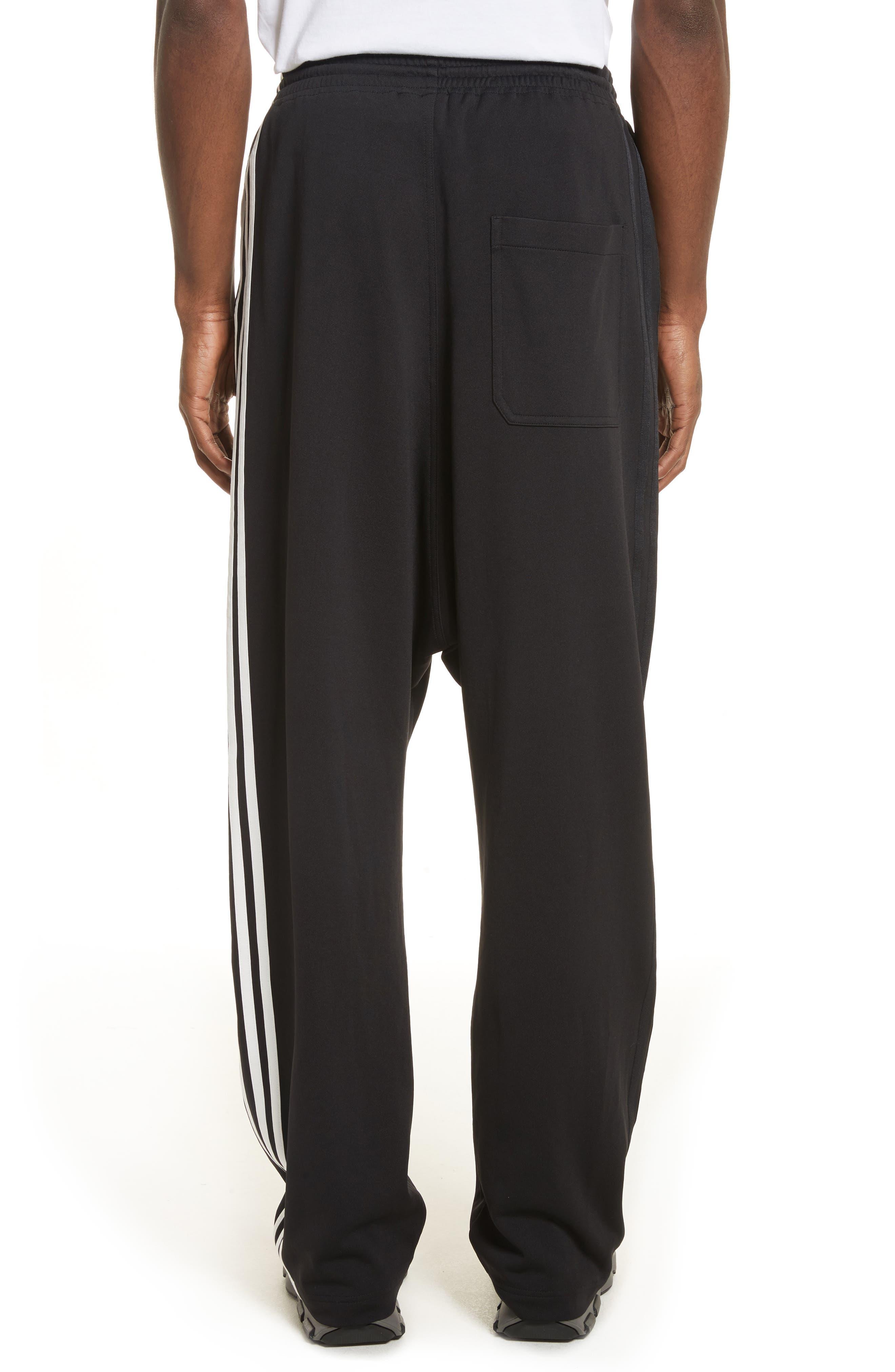 x adidas Wide Leg Track Pants,                             Alternate thumbnail 2, color,                             001
