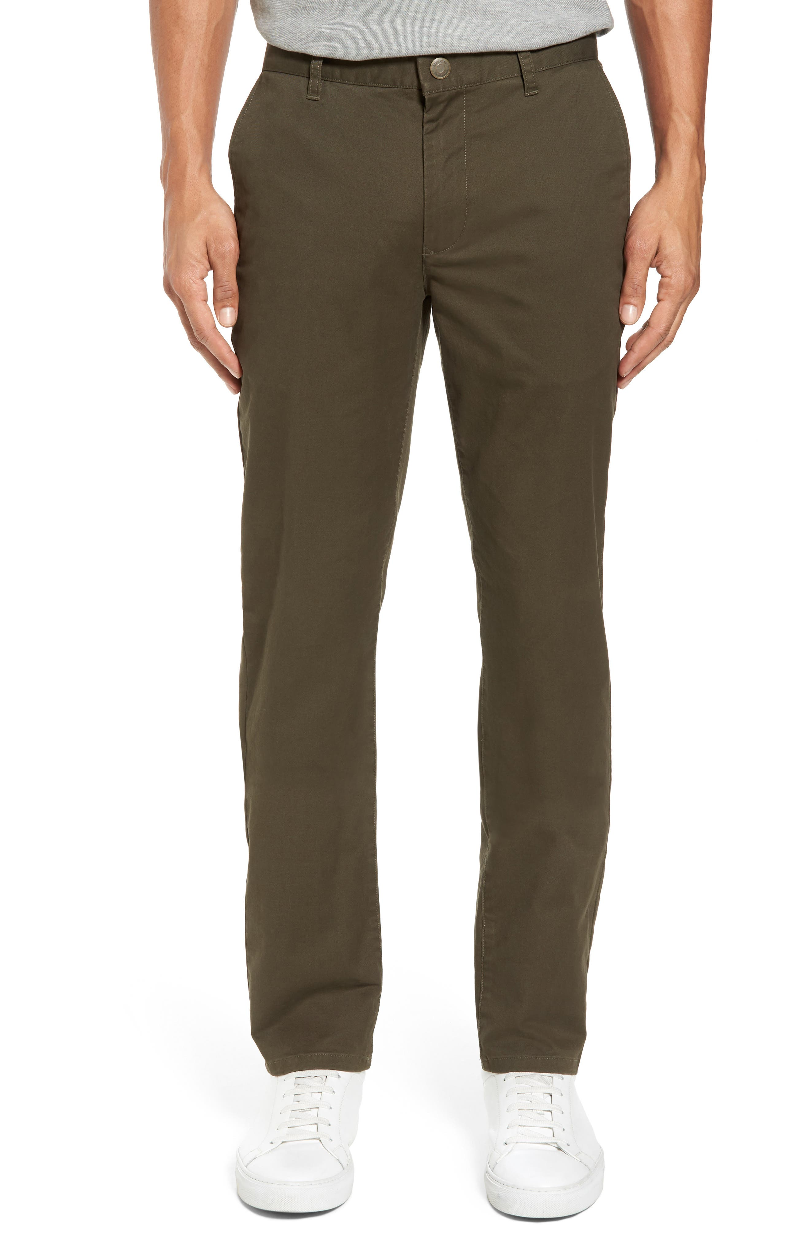 Tailored Fit Washed Stretch Cotton Chinos,                             Main thumbnail 31, color,