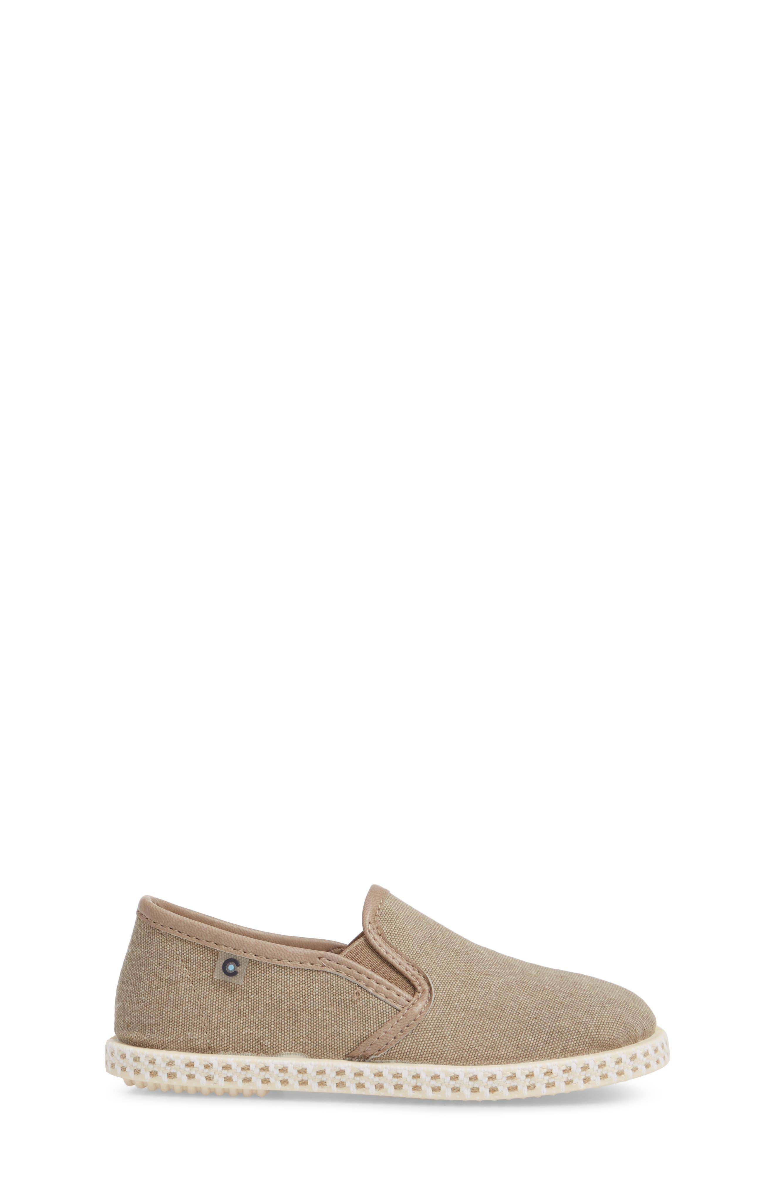 Lona Slip-On Sneaker,                             Alternate thumbnail 3, color,                             TAUPE