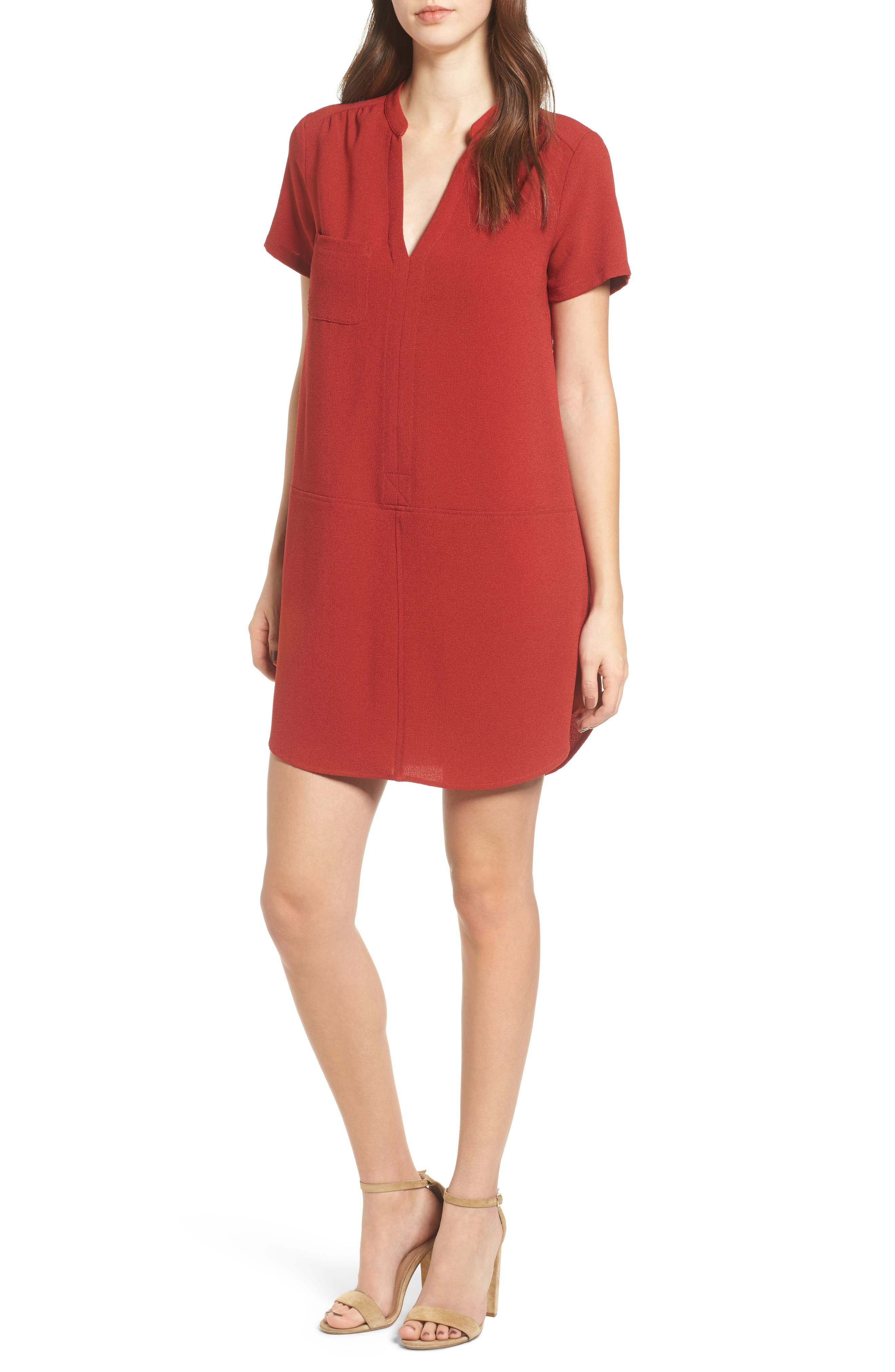 Hailey Crepe Dress,                             Main thumbnail 16, color,