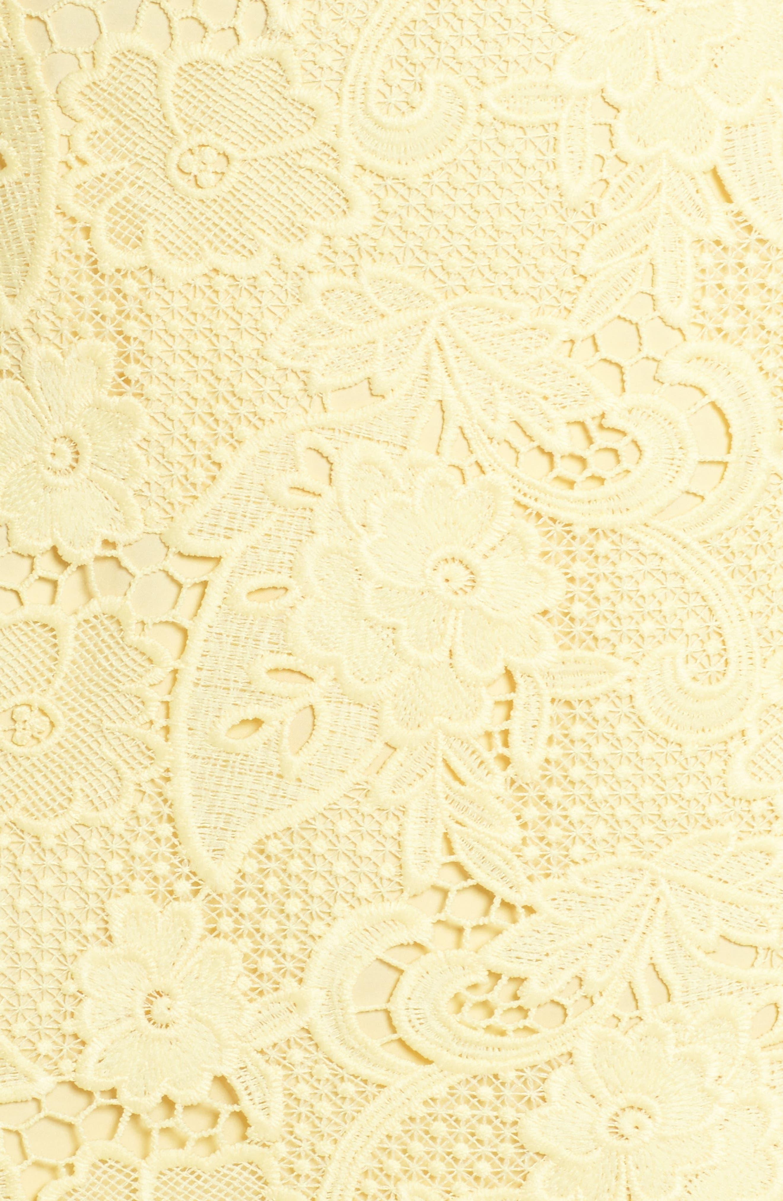 Lace Sheath Dress,                             Alternate thumbnail 5, color,                             720