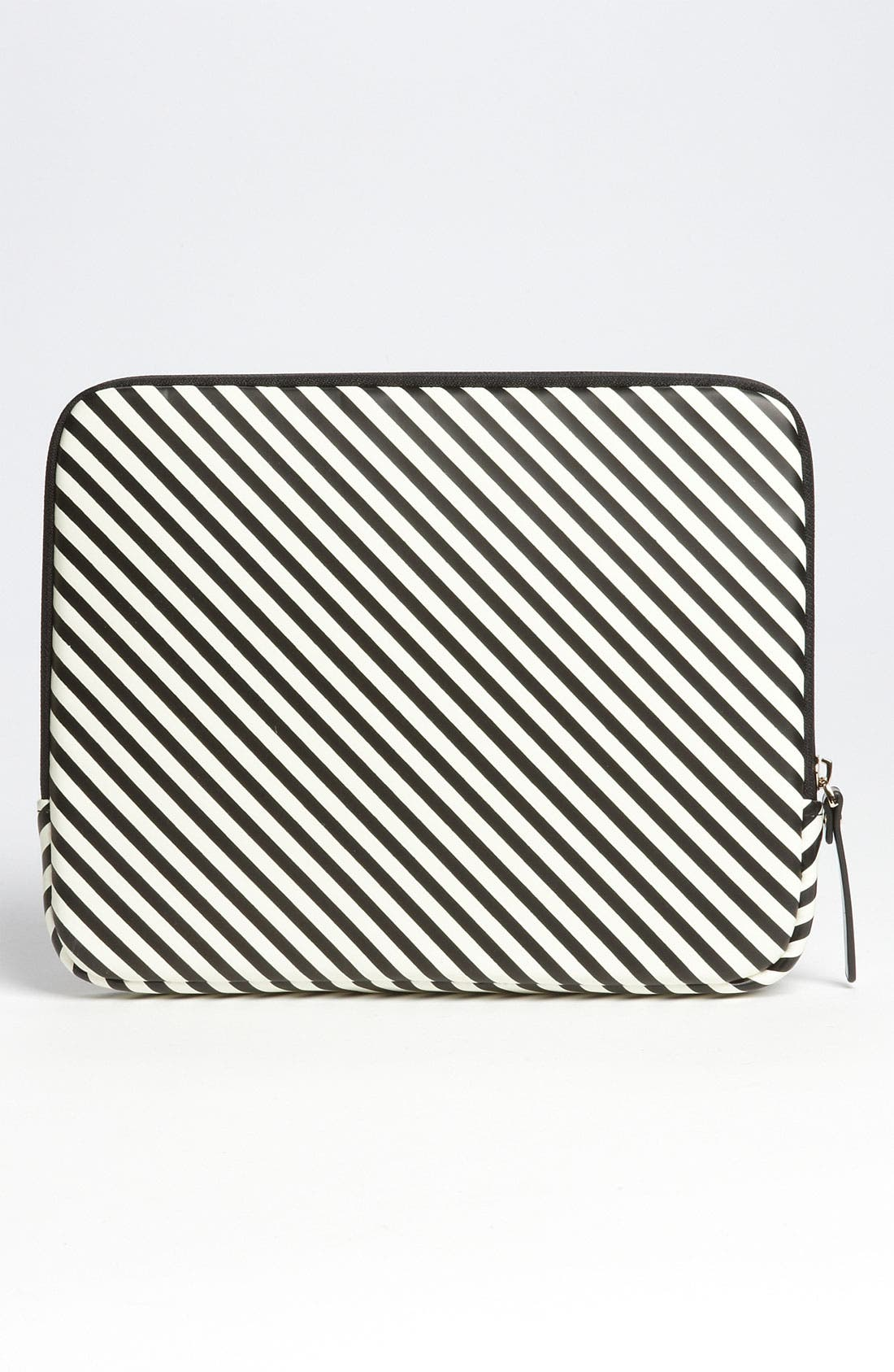 KATE SPADE NEW YORK,                             'harrison - stripe' iPad sleeve,                             Alternate thumbnail 2, color,                             019