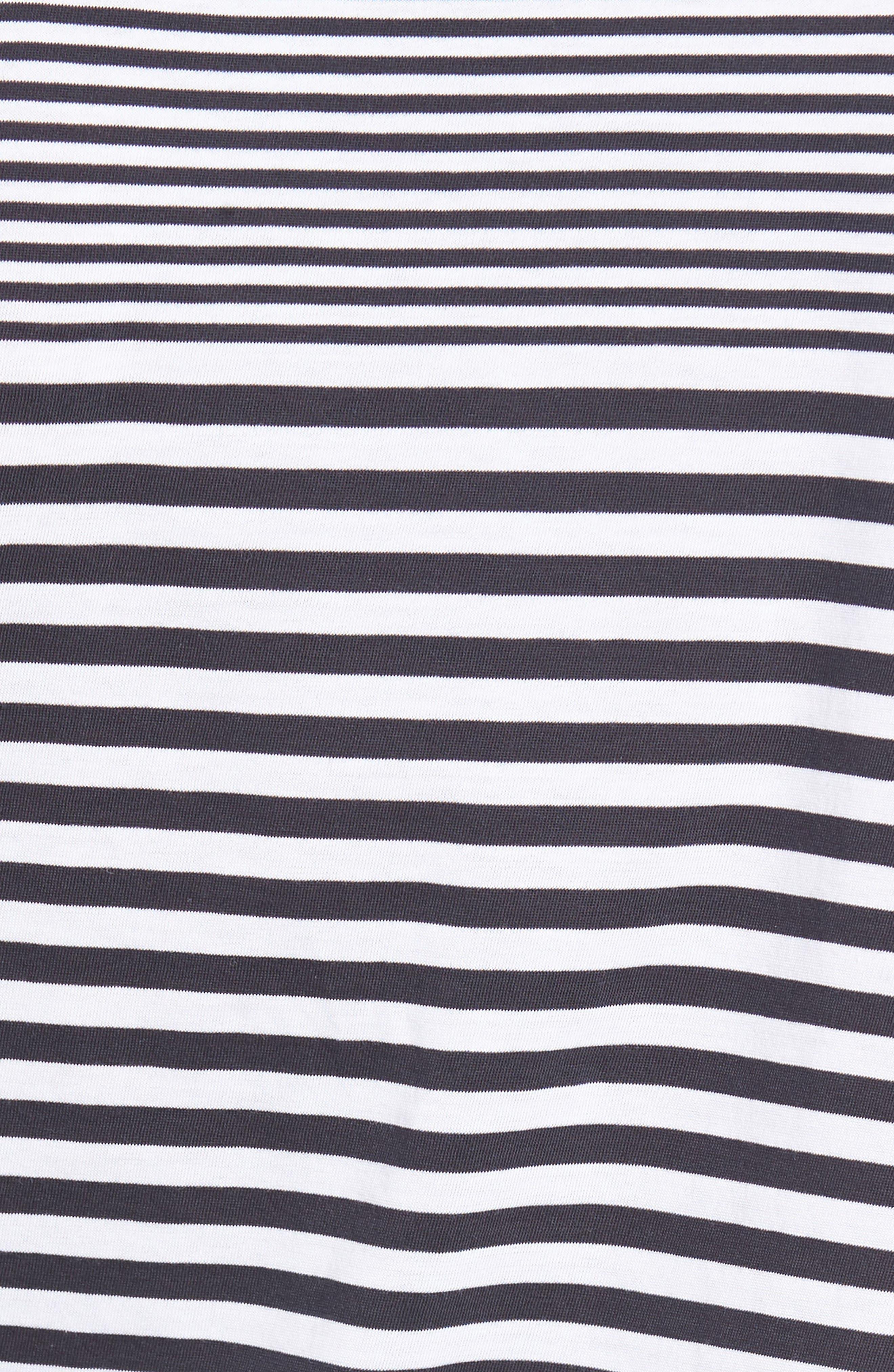 Tessler Slim Fit Stripe T-Shirt,                             Alternate thumbnail 10, color,