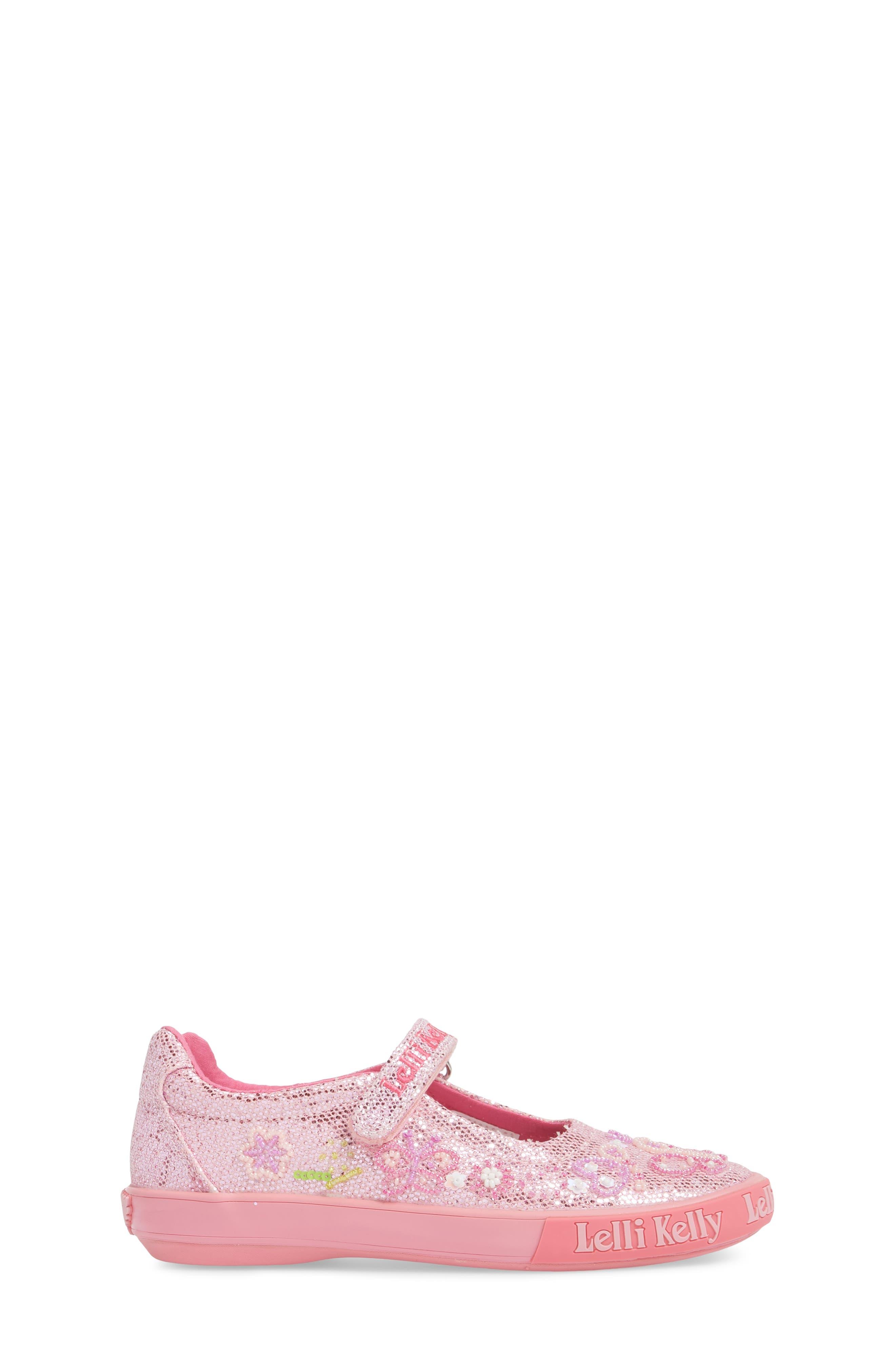 Beaded Mary Jane Sneaker,                             Alternate thumbnail 6, color,