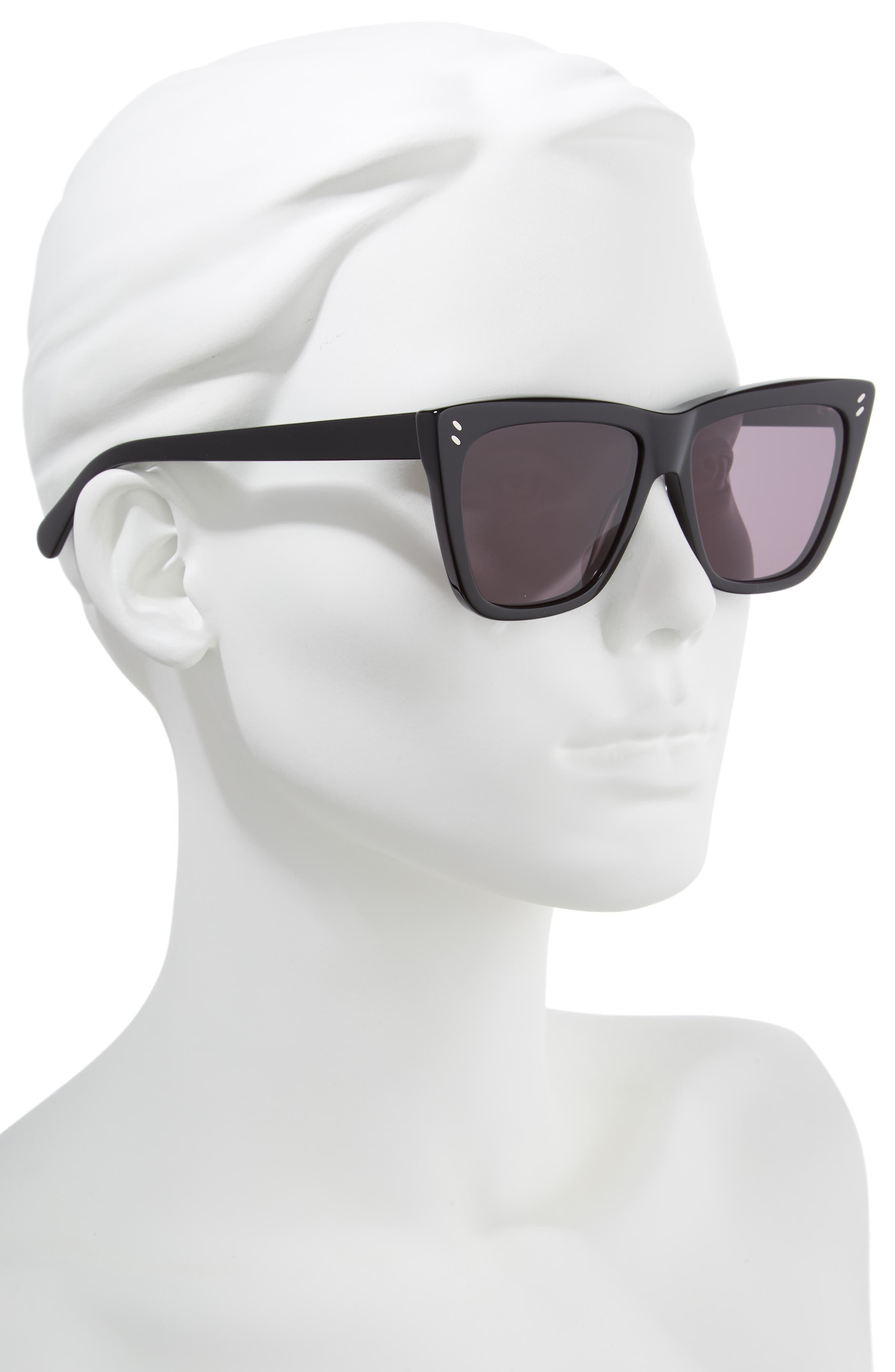 55mm Polarized Sunglasses,                             Alternate thumbnail 3, color,