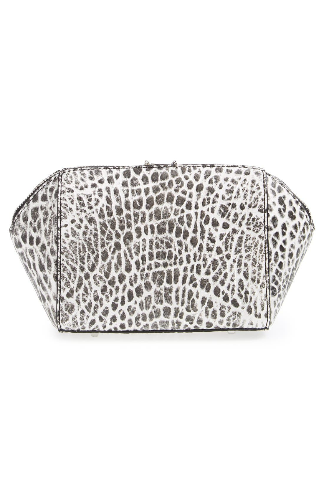 'Chastity' Clutch,                             Alternate thumbnail 5, color,                             001
