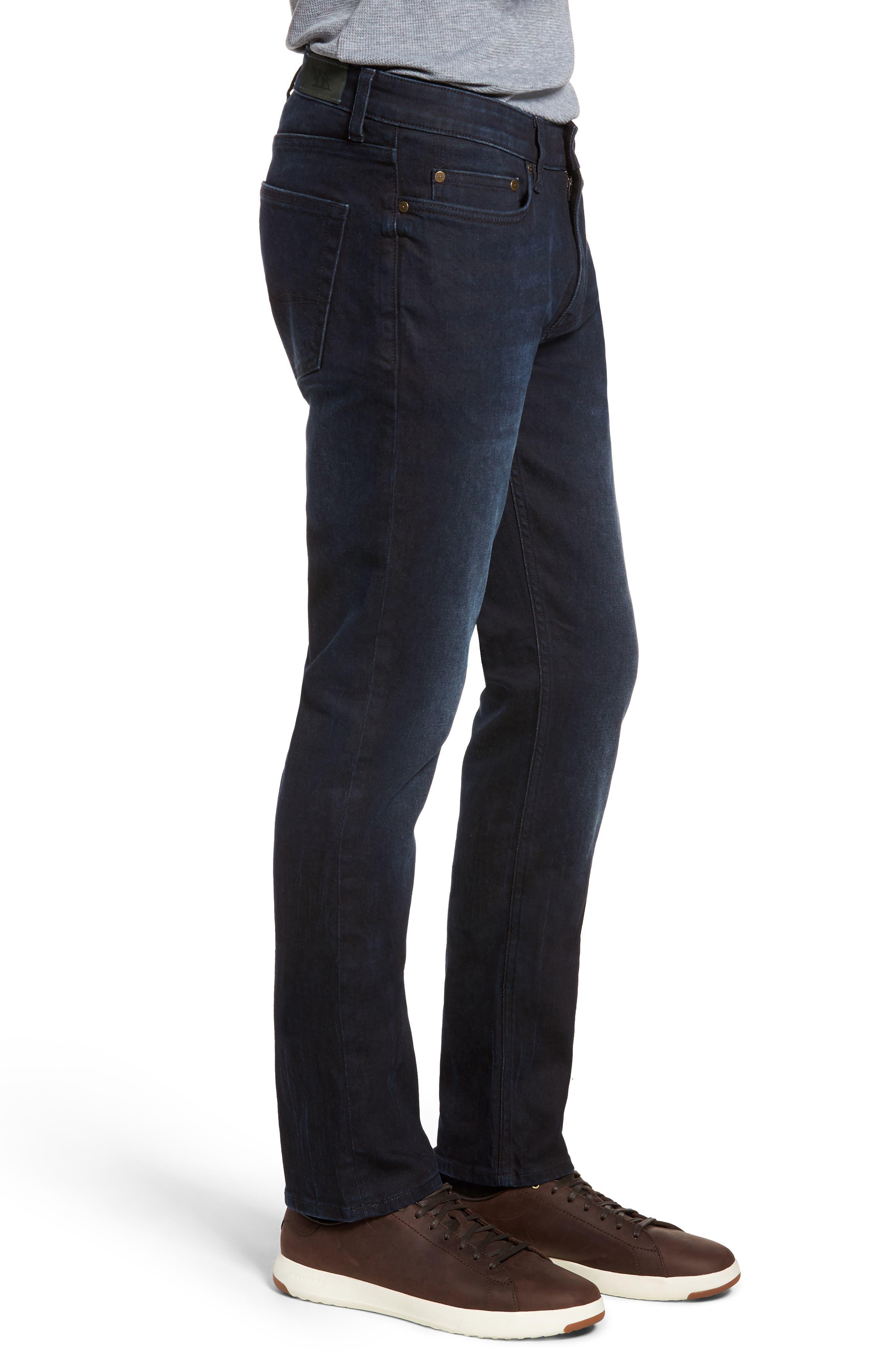 Mapleton Slim Fit Jeans,                             Alternate thumbnail 3, color,                             DENIM
