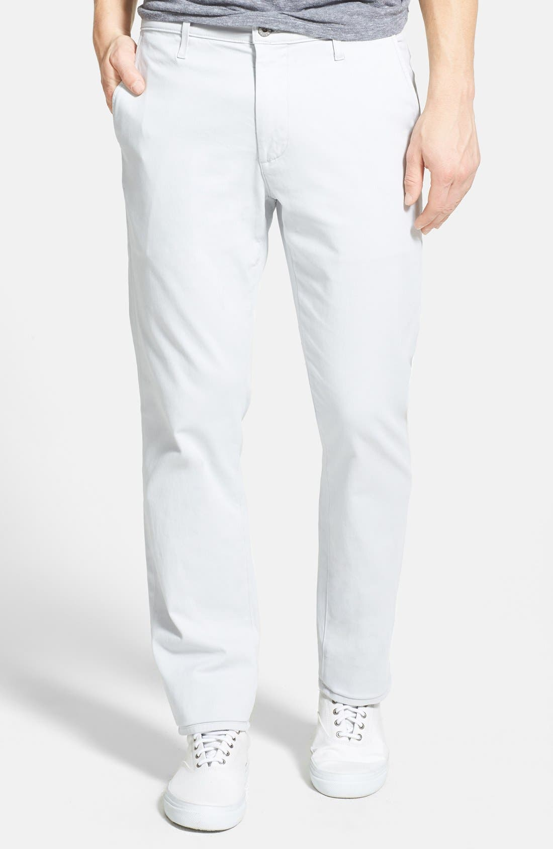 'The Lux' Tailored Straight Leg Chinos,                             Main thumbnail 4, color,