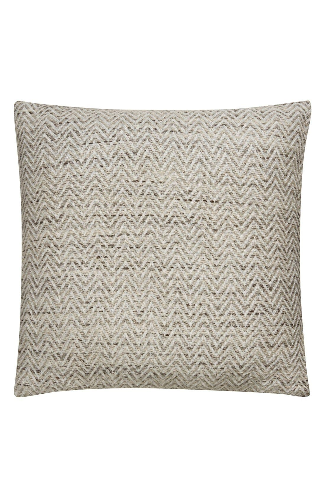 'Peykan' Pillow,                             Main thumbnail 1, color,                             IVORY/ BLACK