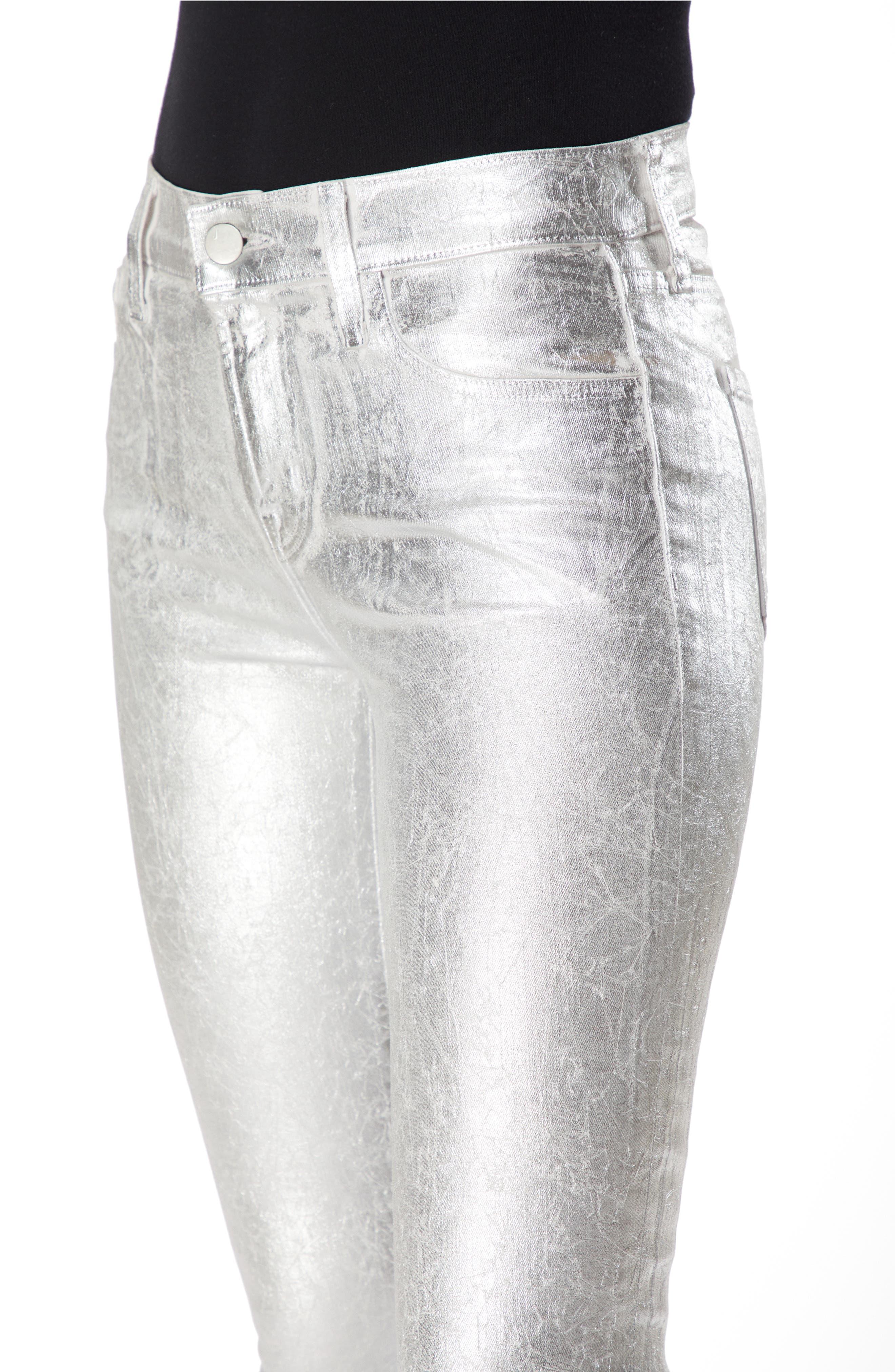 835 Capri Skinny Jeans,                             Alternate thumbnail 4, color,                             SUPERMOON CRISTALLINE