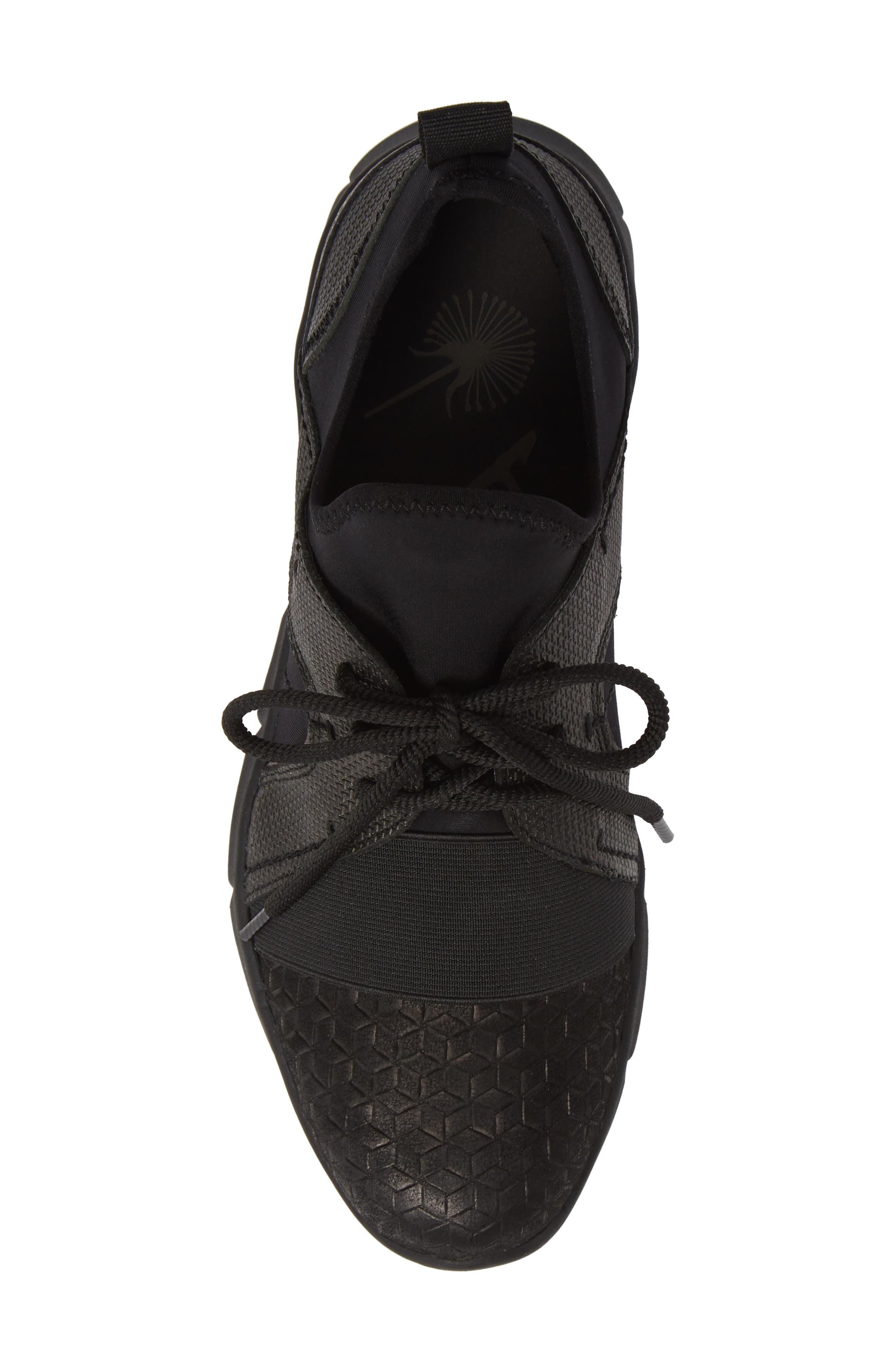 Transfer Sneaker,                             Alternate thumbnail 5, color,                             BLACK
