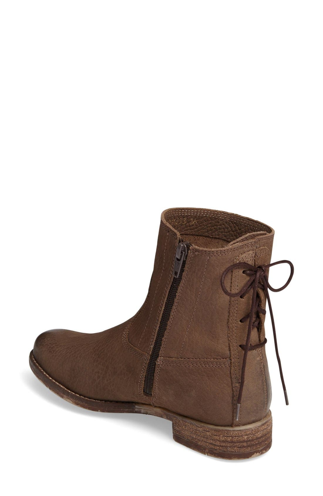 Sienna 01 Lace Back Bootie,                             Alternate thumbnail 18, color,