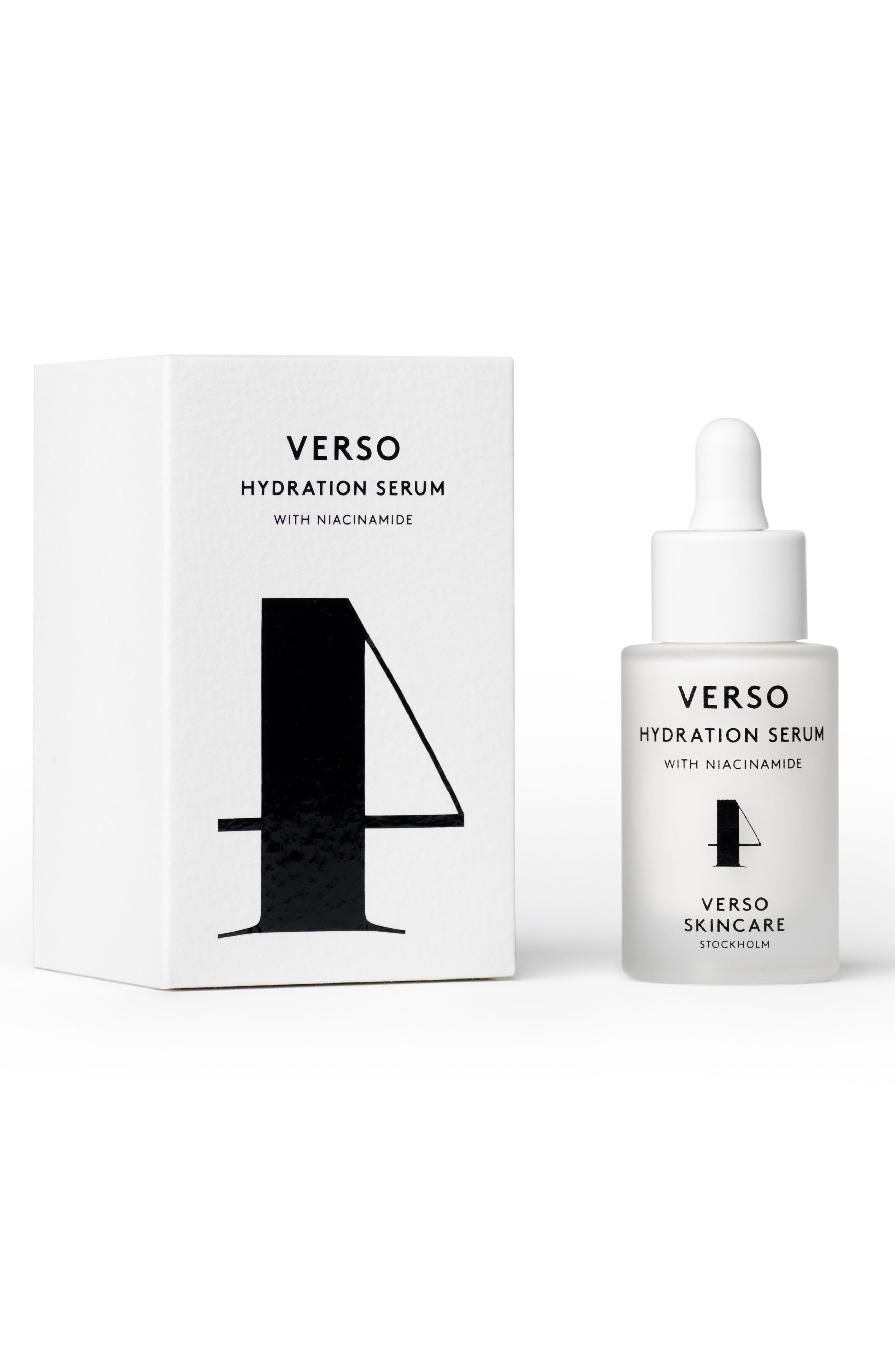 SPACE.NK.apothecary Verso Skincare Hydration Serum,                             Main thumbnail 1, color,                             NO COLOR