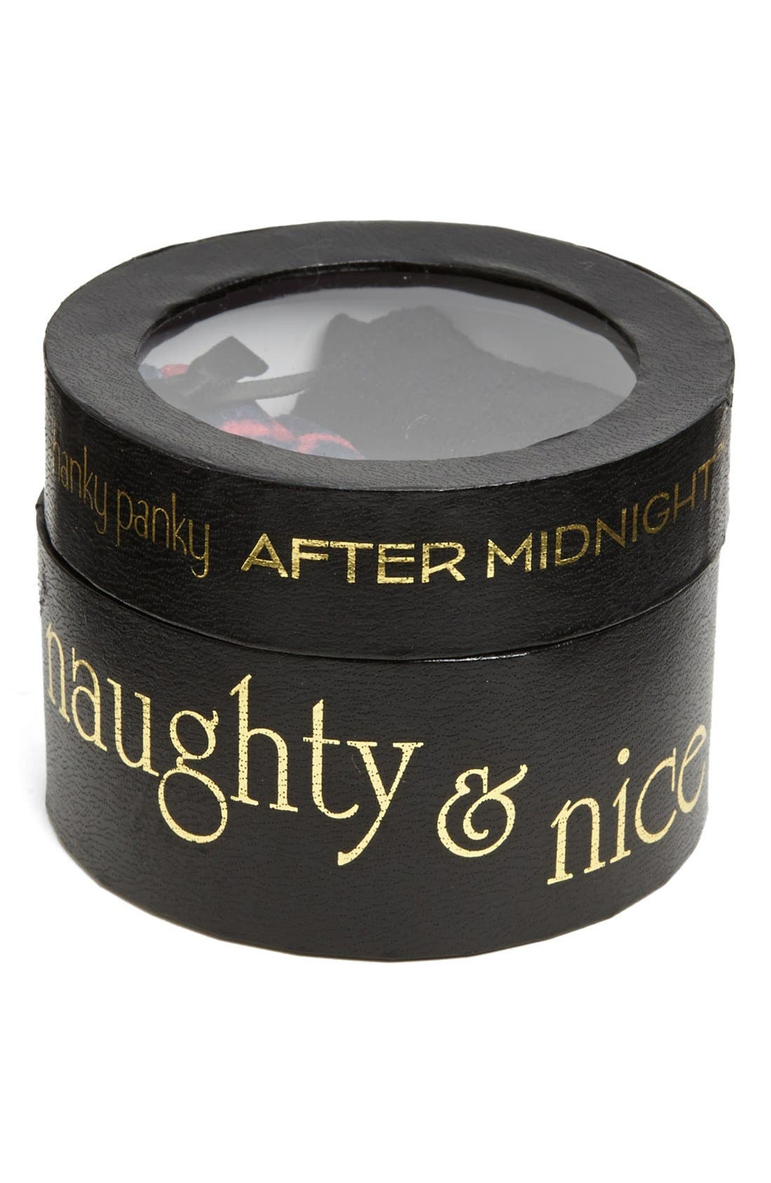 HANKY PANKY,                             'After Midnight - Naughty & Nice' Thong,                             Alternate thumbnail 2, color,                             008
