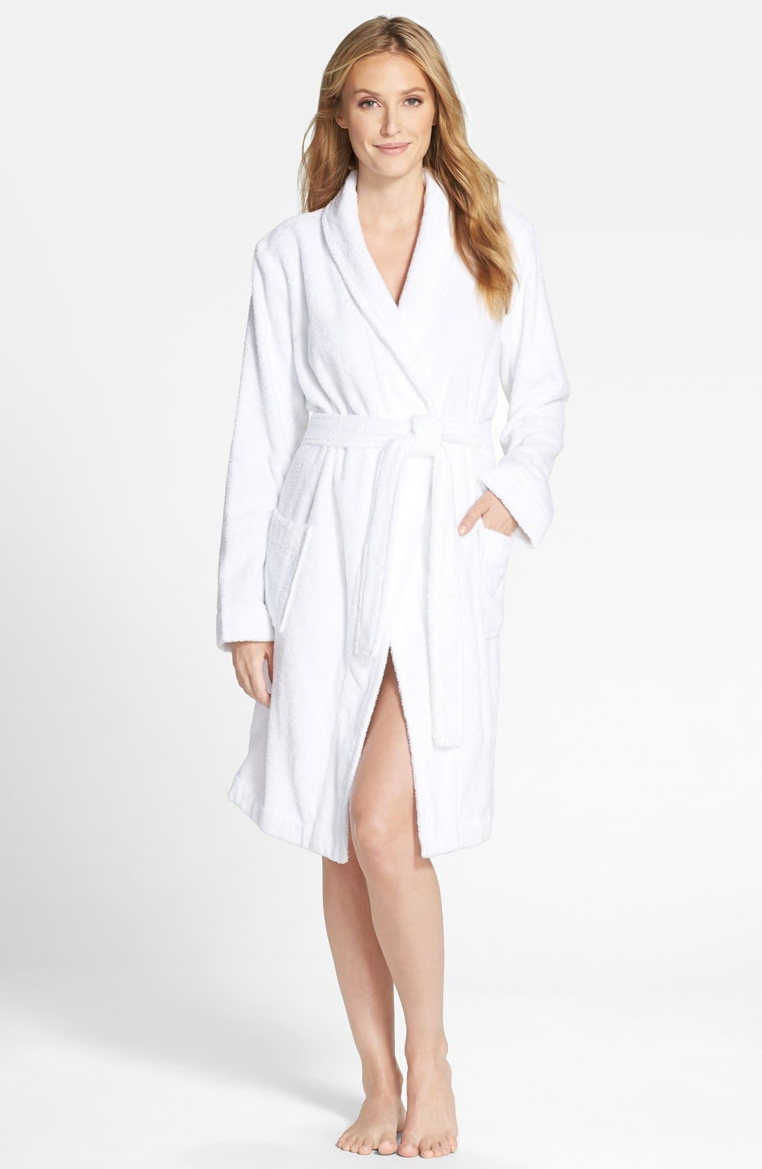 Terry Robe,                         Main,                         color, WHITE