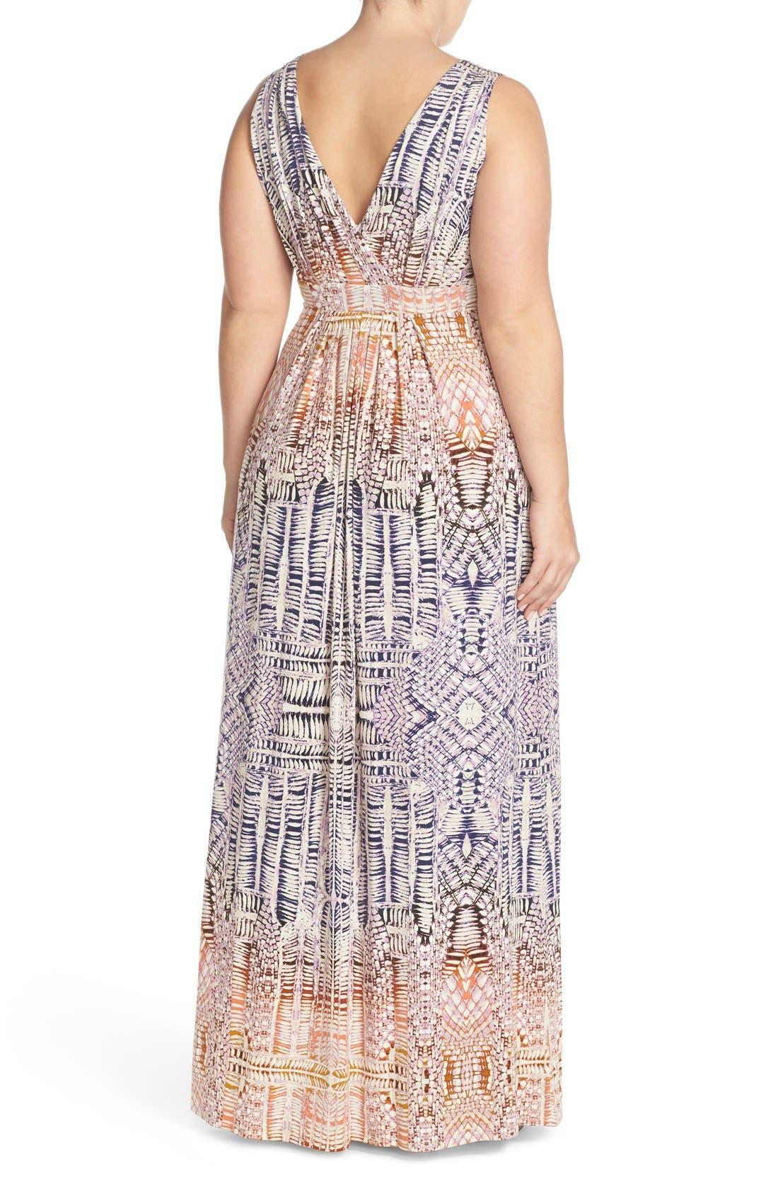 Chloe Empire Waist Maxi Dress,                             Alternate thumbnail 83, color,