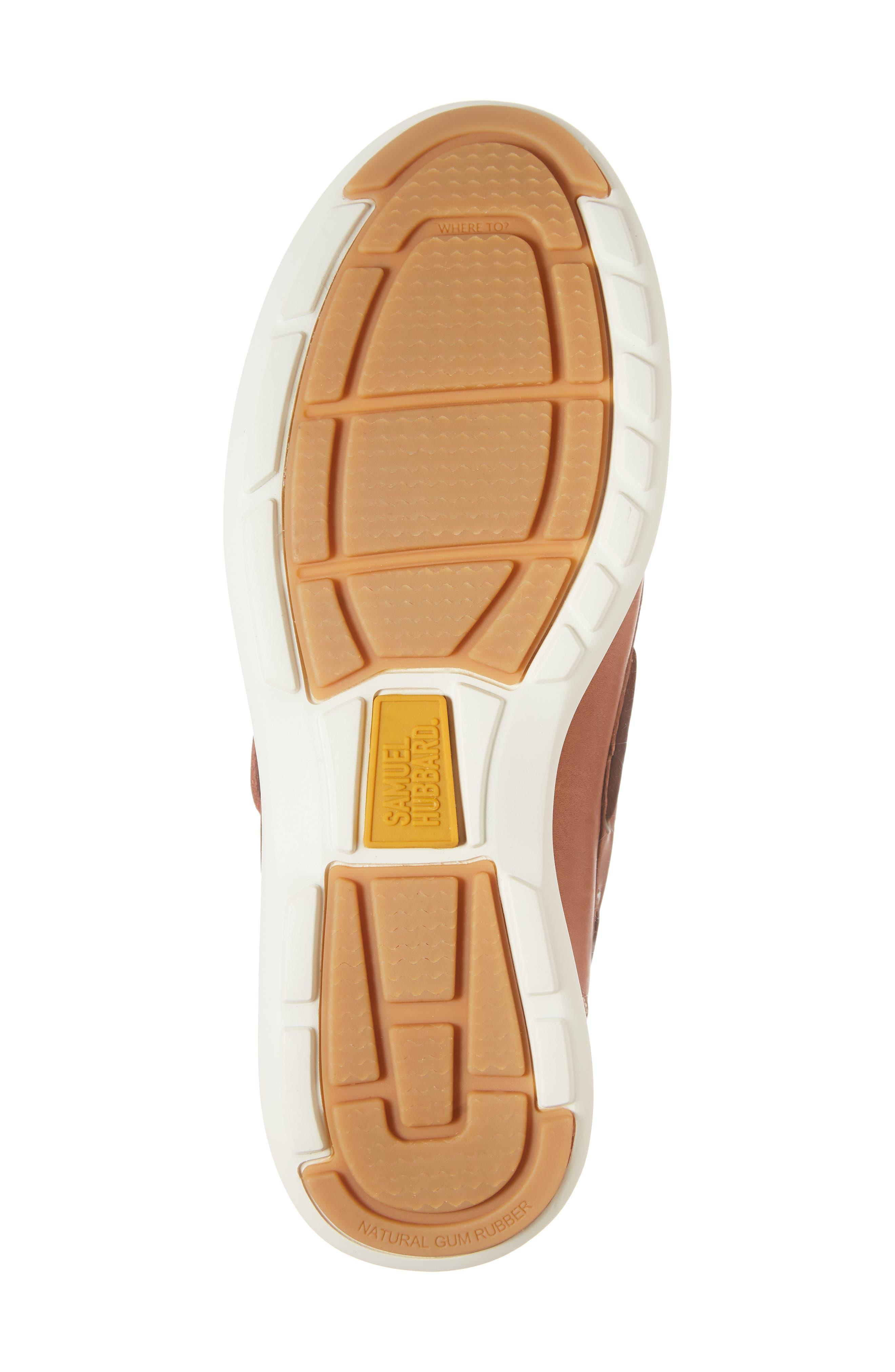 New Endeavor Moc Toe Boat Shoe,                             Alternate thumbnail 6, color,                             TAN WAXED NUBUCK