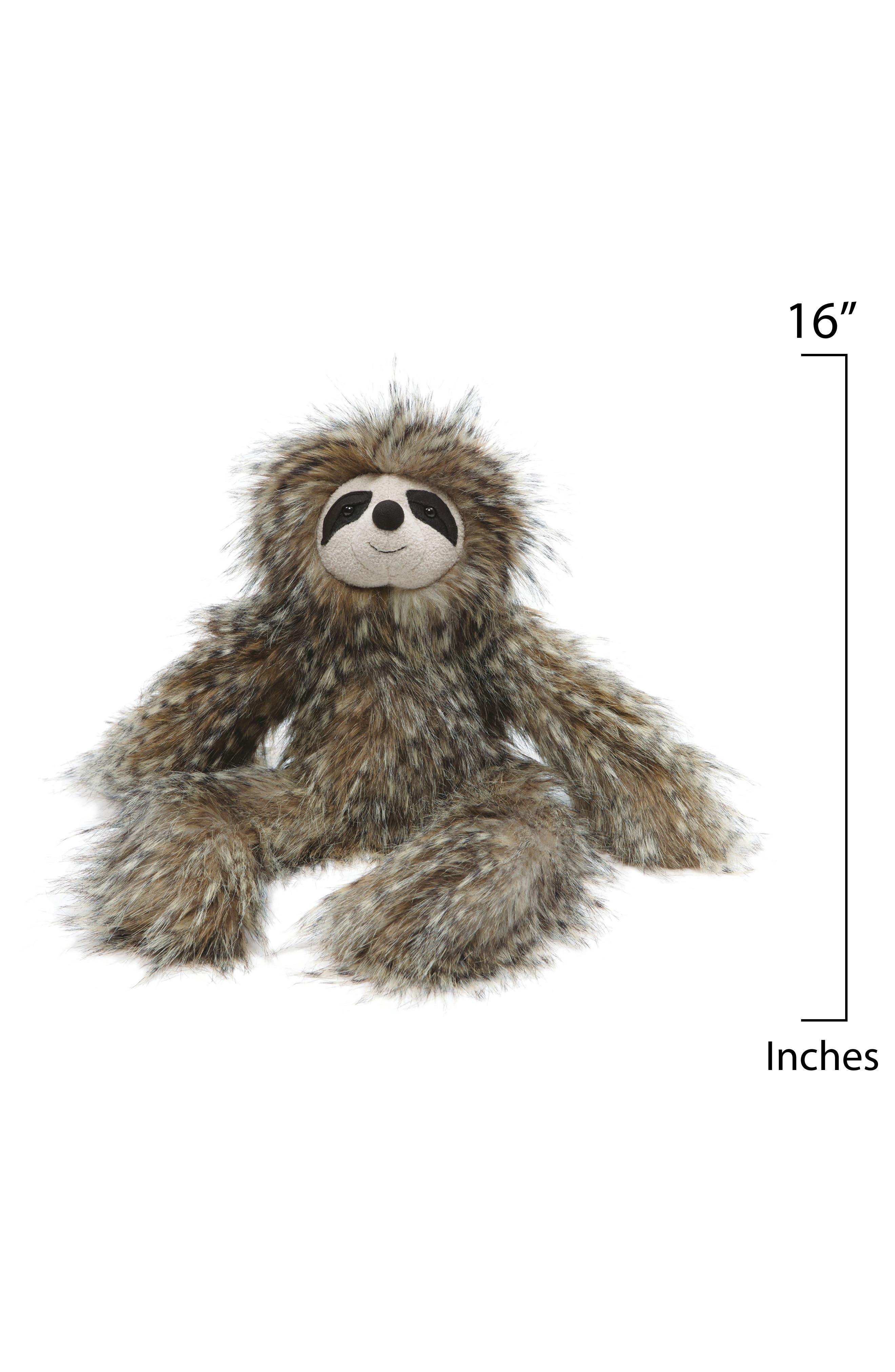 'Cyril Sloth' Stuffed Animal,                             Alternate thumbnail 2, color,                             GREY
