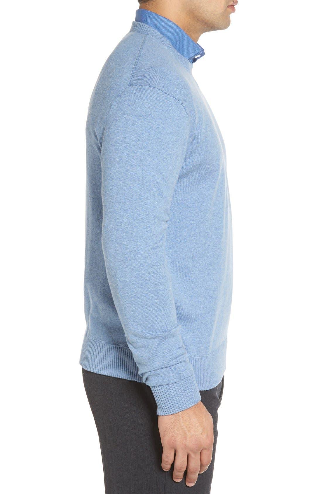 'Jersey Sport' Cotton Blend Crewneck Sweater,                             Alternate thumbnail 20, color,