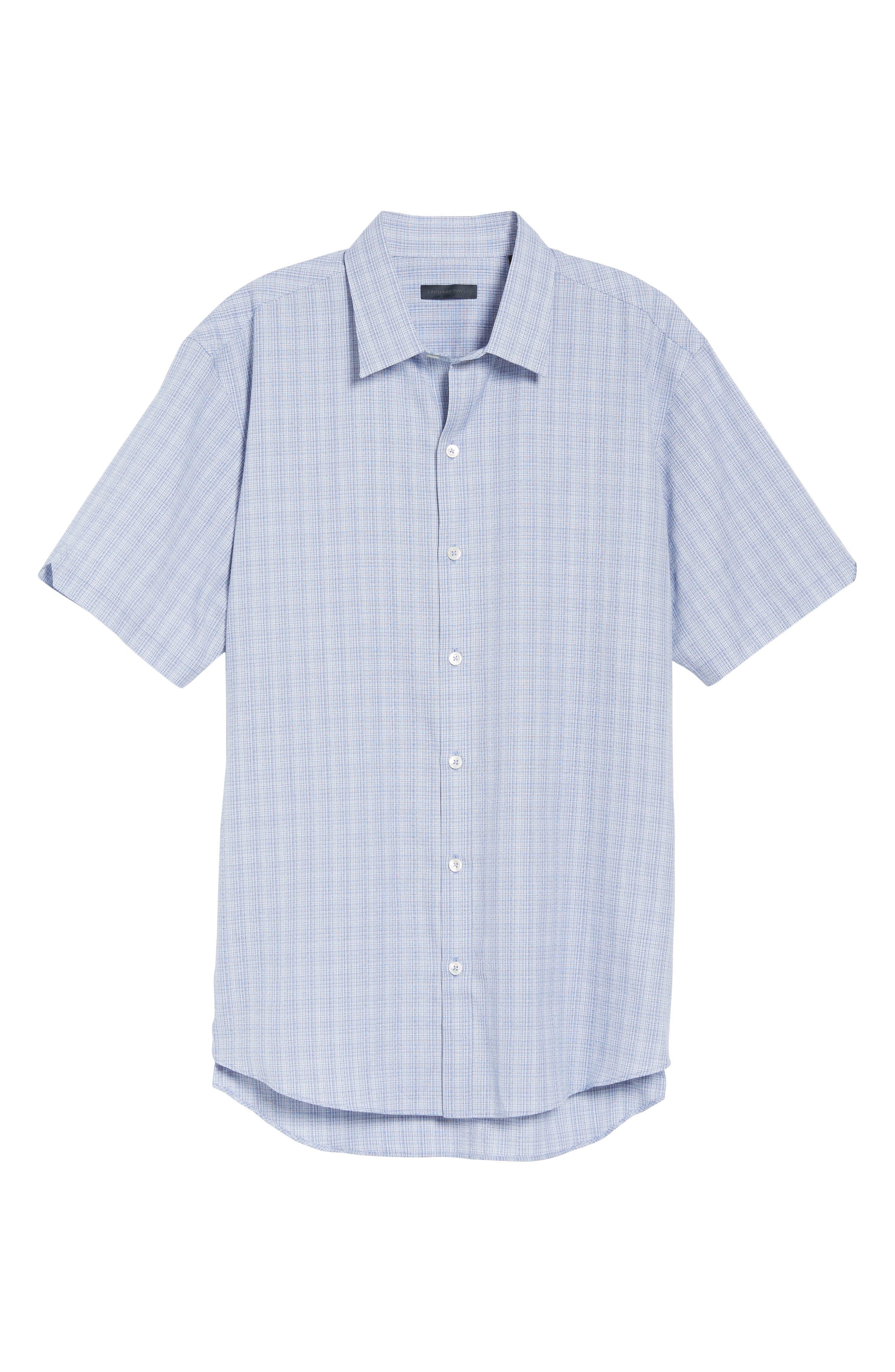 Zimmerman Check Sport Shirt,                             Alternate thumbnail 6, color,                             400