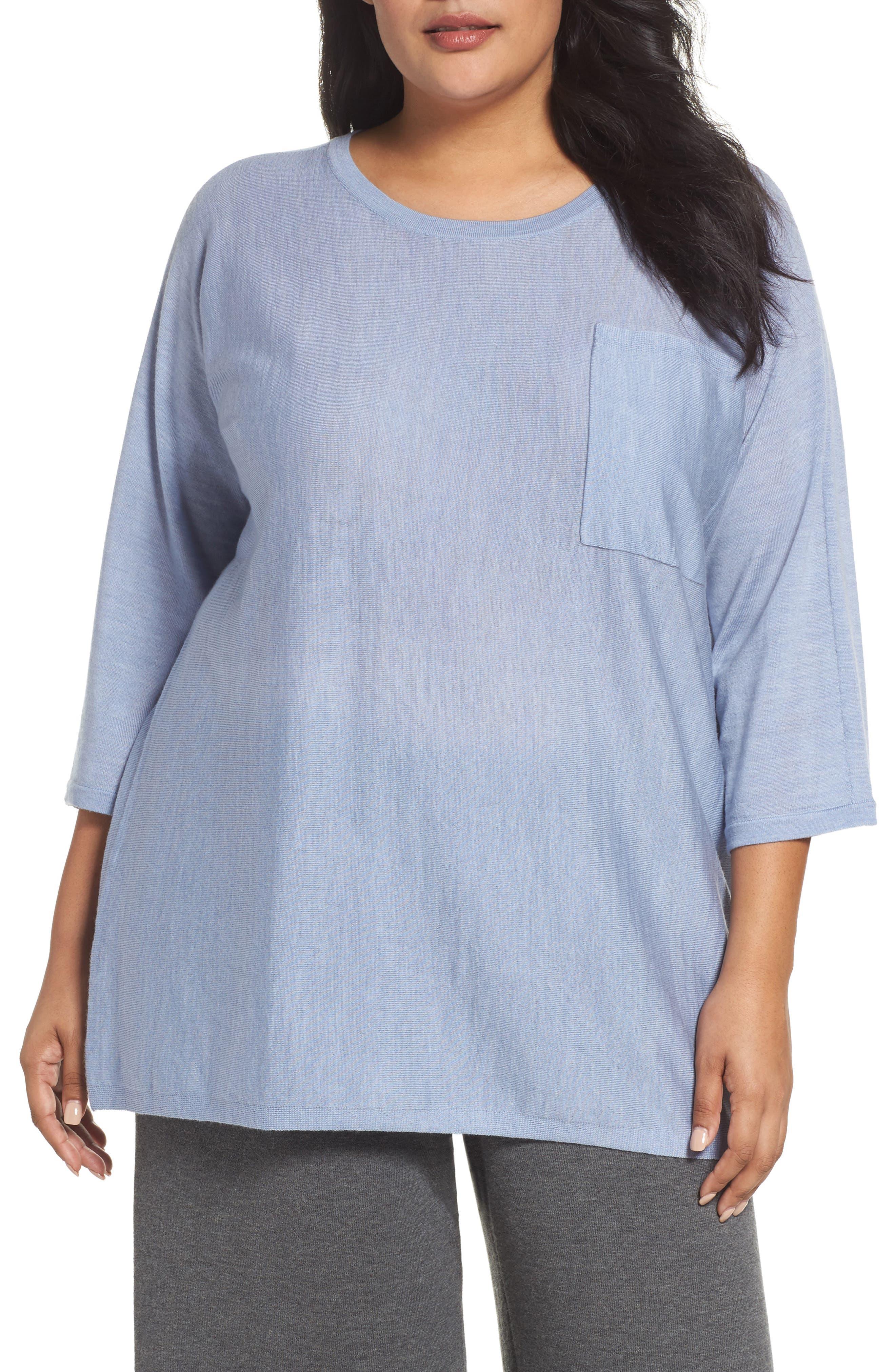 Round Neck Merino Sweater,                         Main,                         color, 401