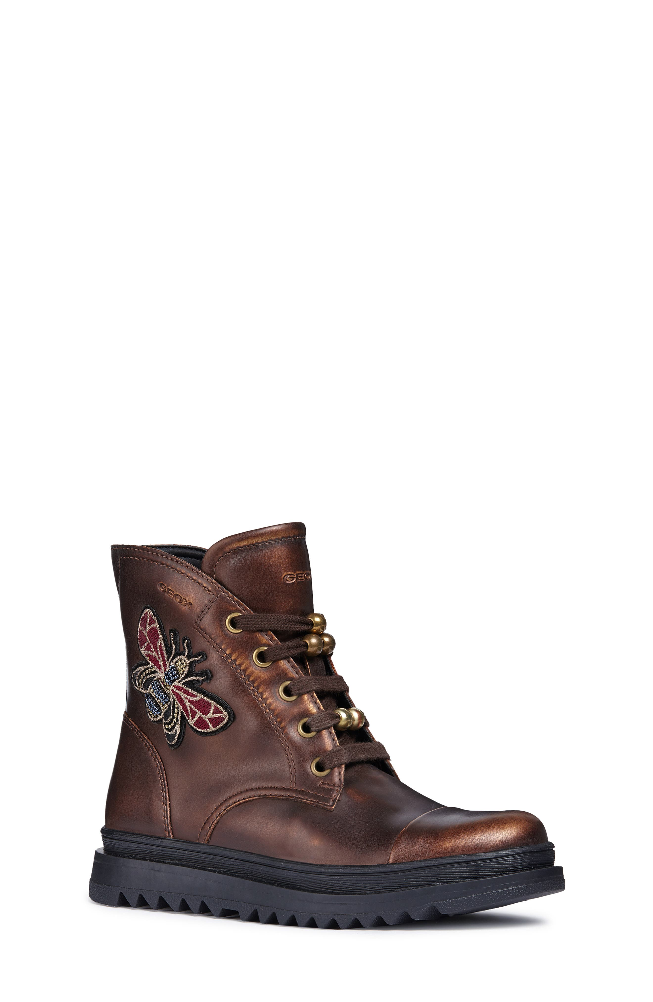 Gilly Jaw 2 Lace-Up Boot,                             Main thumbnail 1, color,                             BRONZE
