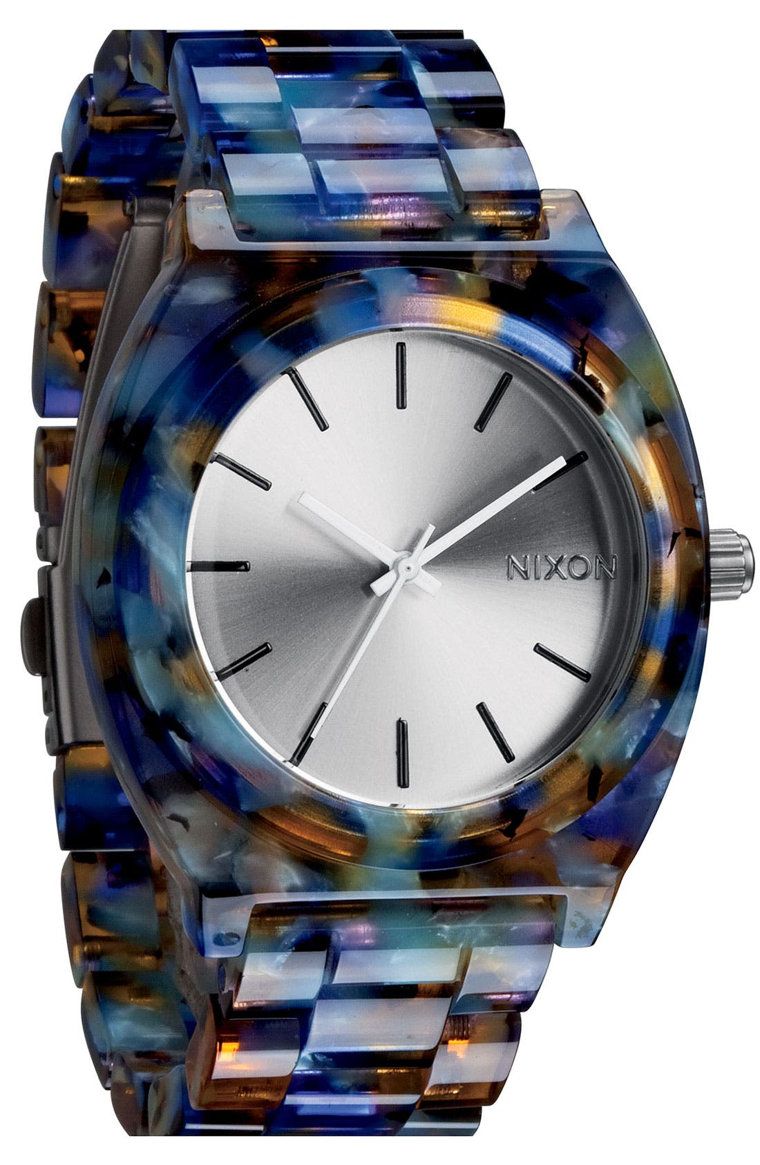 'The Time Teller Watercolor' Watch, 39mm x 37mm,                         Main,                         color, 401