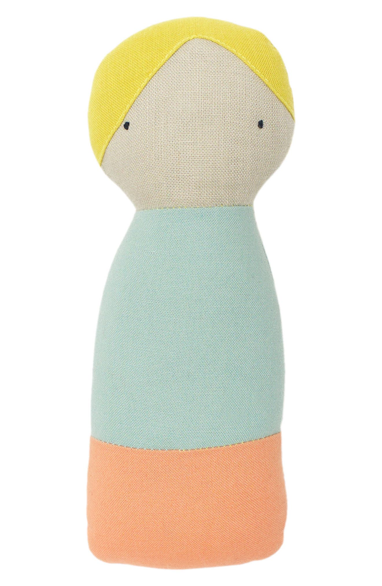 ouistitine x Pehr Little Peeps Rattle,                             Main thumbnail 1, color,
