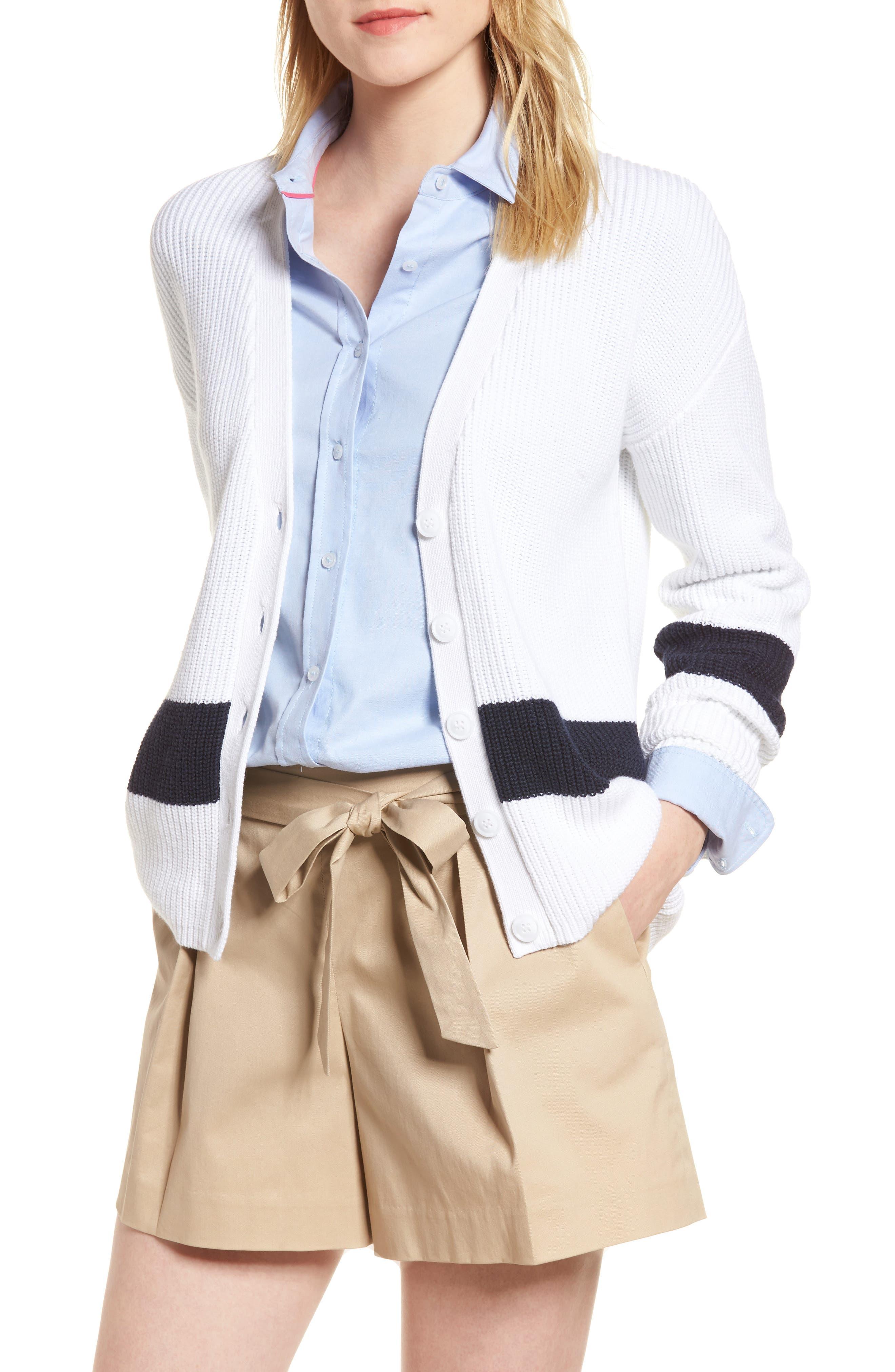 Shaker Knit Cardigan,                         Main,                         color, 100