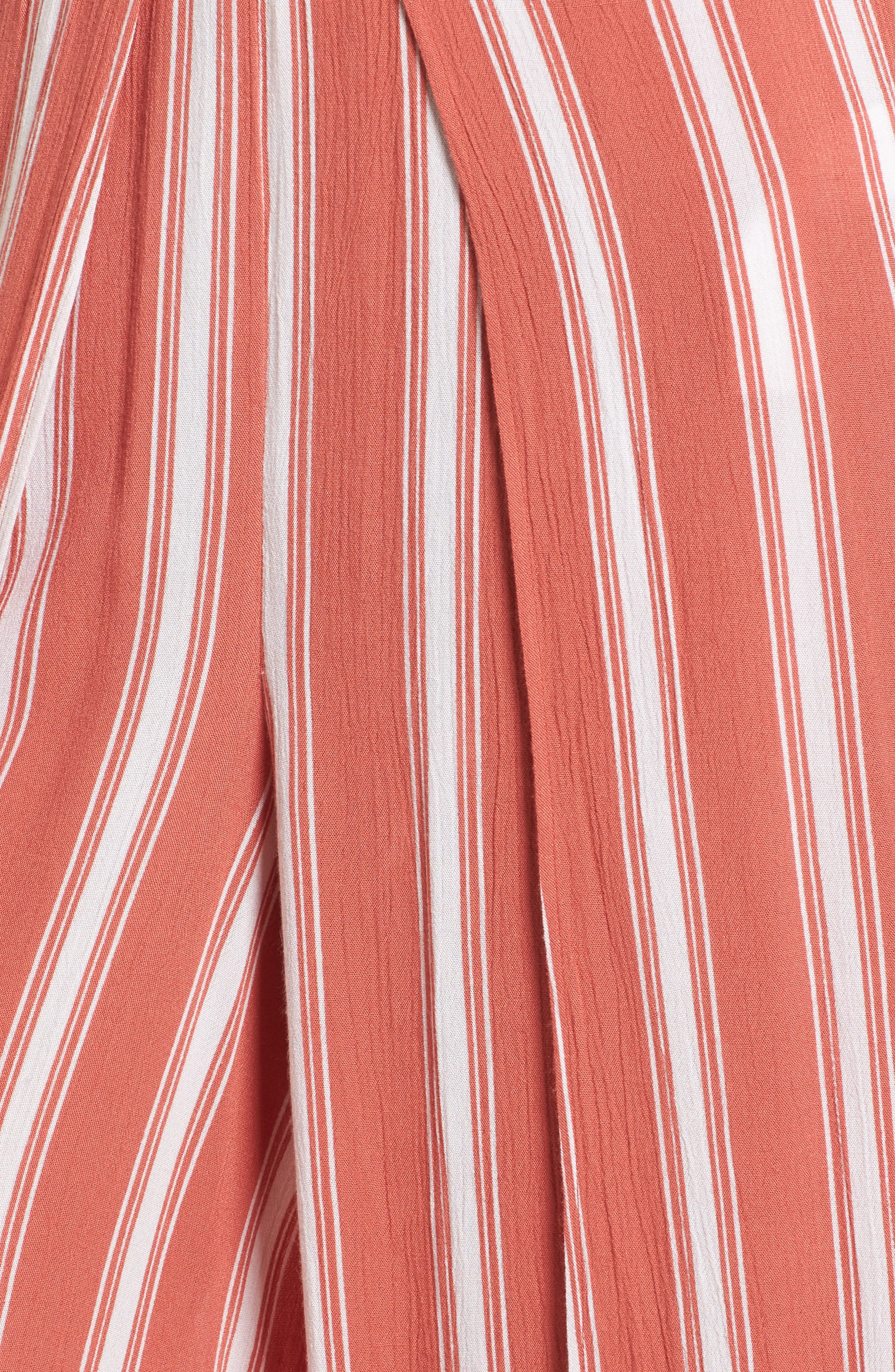 Stripe Split Leg Walkthrough Pants,                             Alternate thumbnail 5, color,                             950