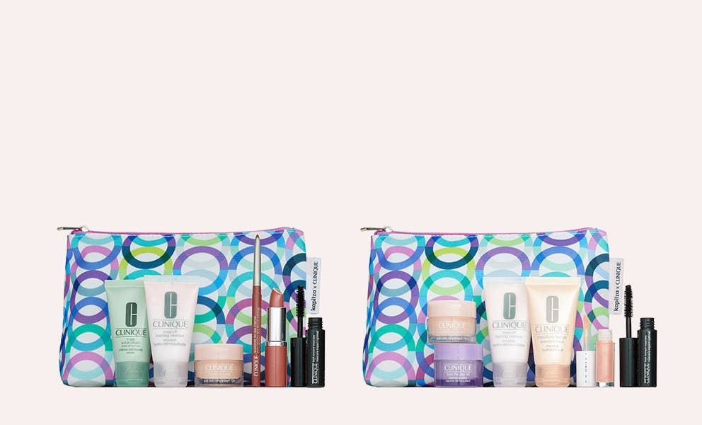 Choose a free gift with your $29 Clinique purchase; a $75 value. Plus, buy more, get more.
