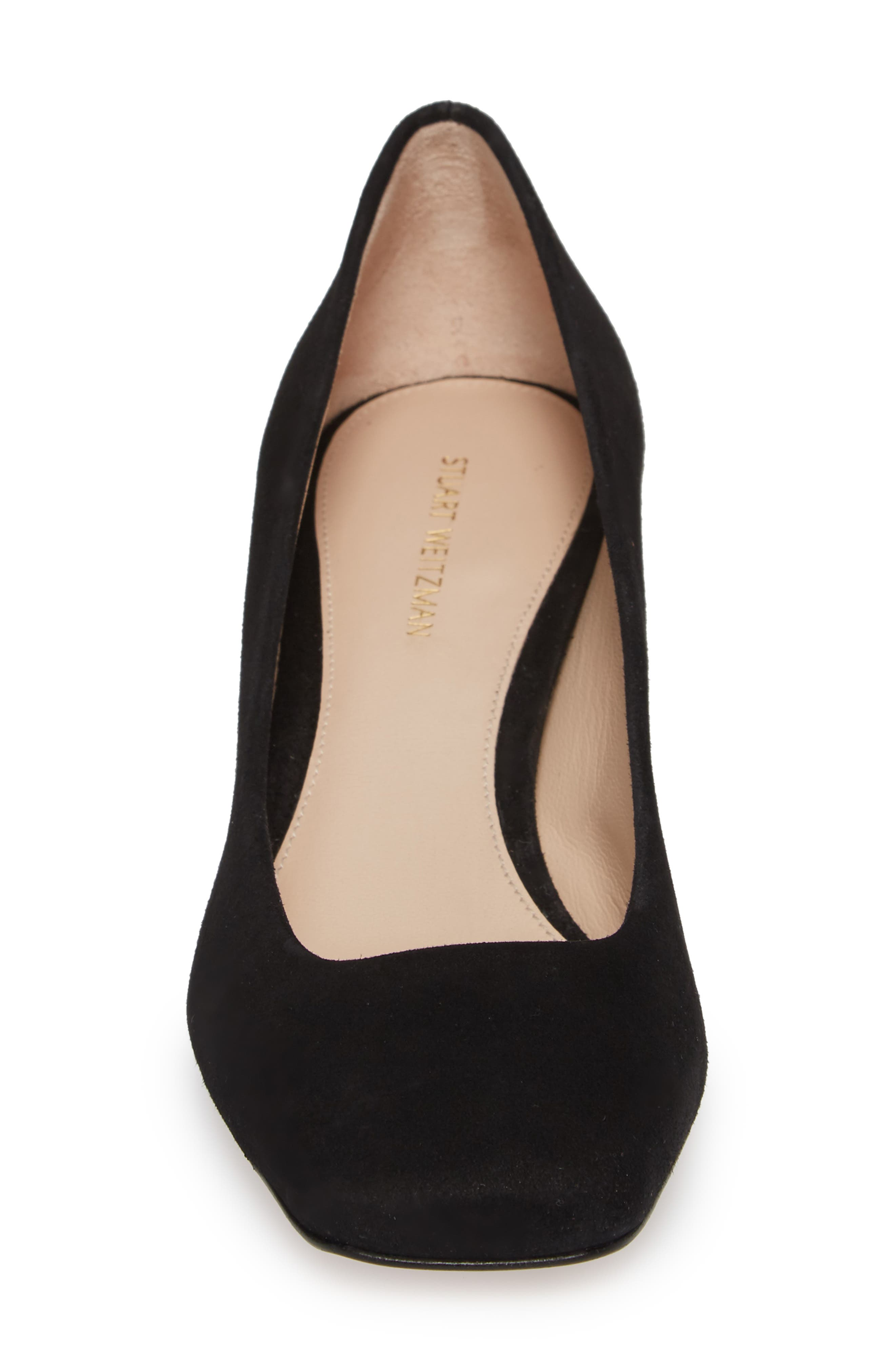 Chelsea Square Toe Pump,                             Alternate thumbnail 4, color,                             006