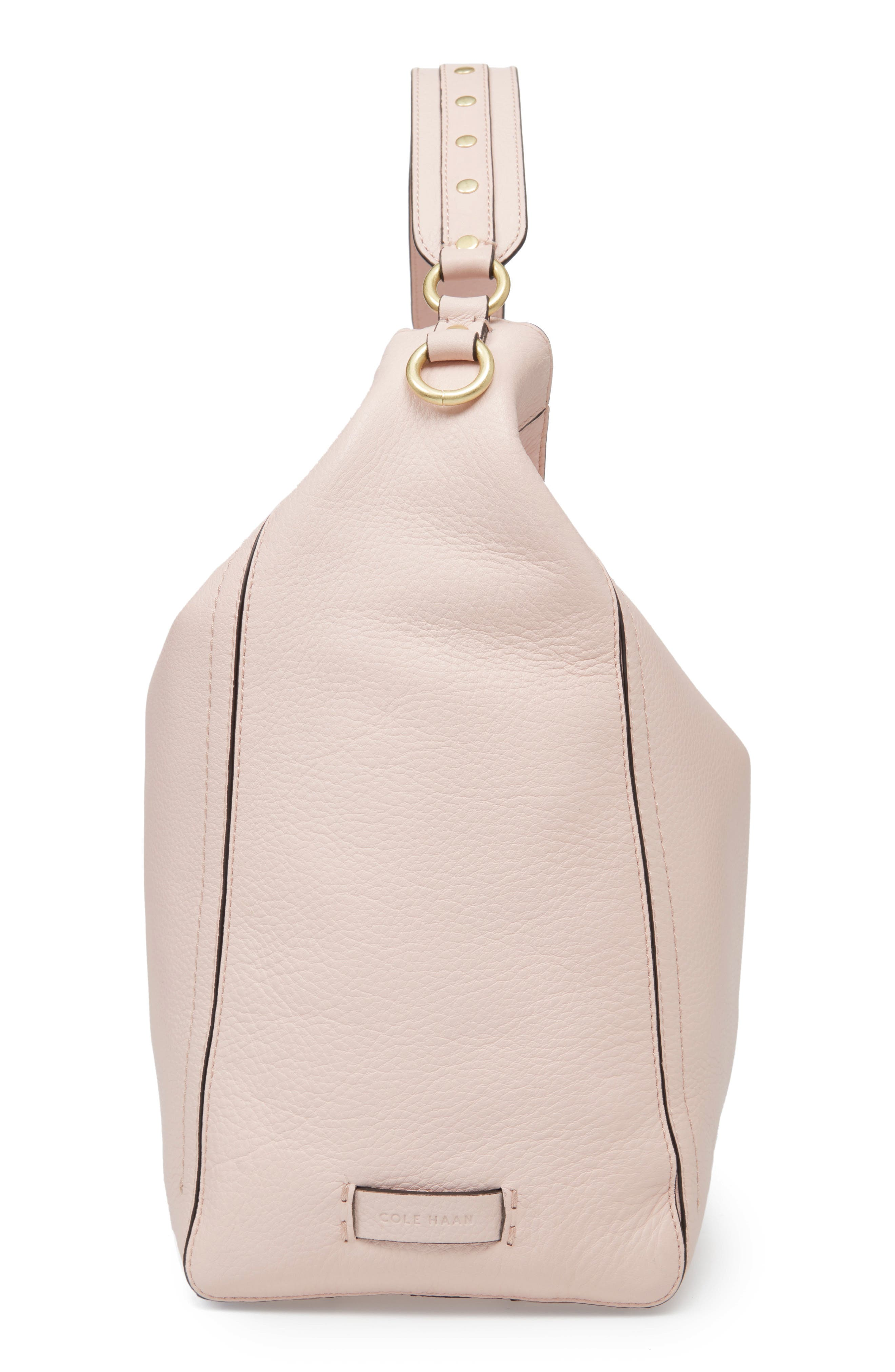 Cassidy RFID Pebbled Leather Bucket Bag,                             Alternate thumbnail 20, color,
