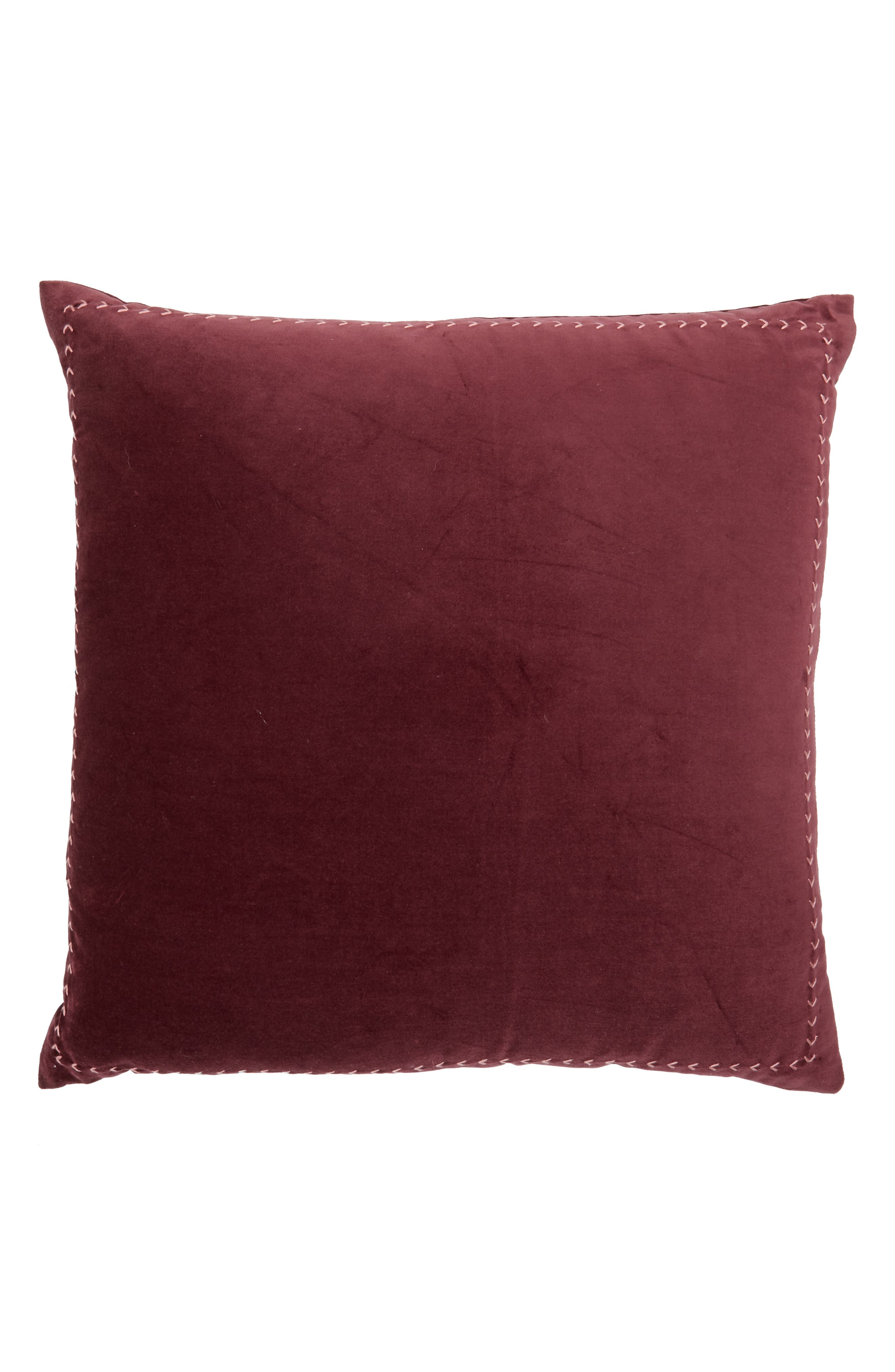 Velvet Accent Pillow,                             Main thumbnail 2, color,