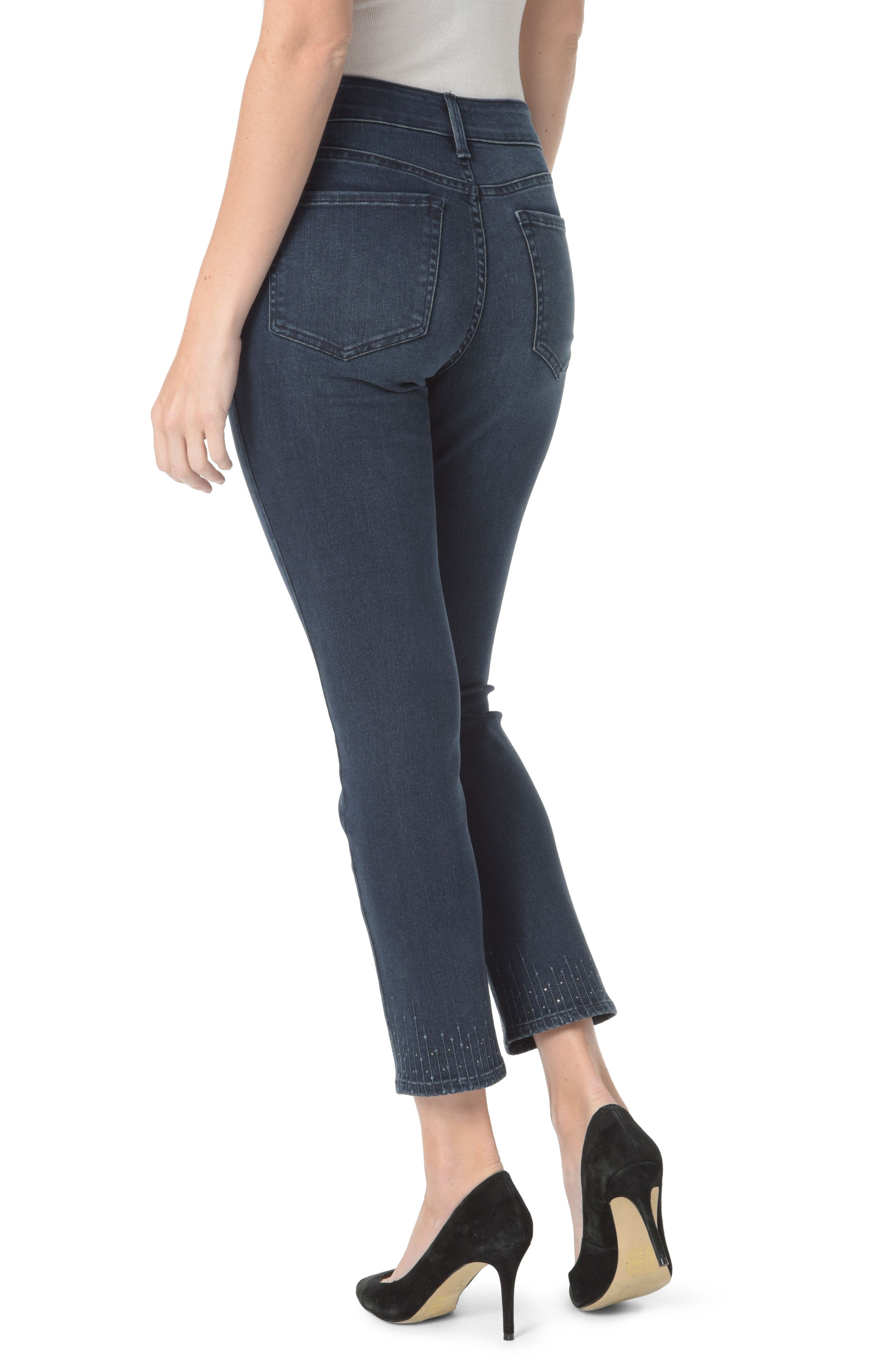 Sheri Embroidered Ankle Skinny Jeans,                             Alternate thumbnail 2, color,                             409