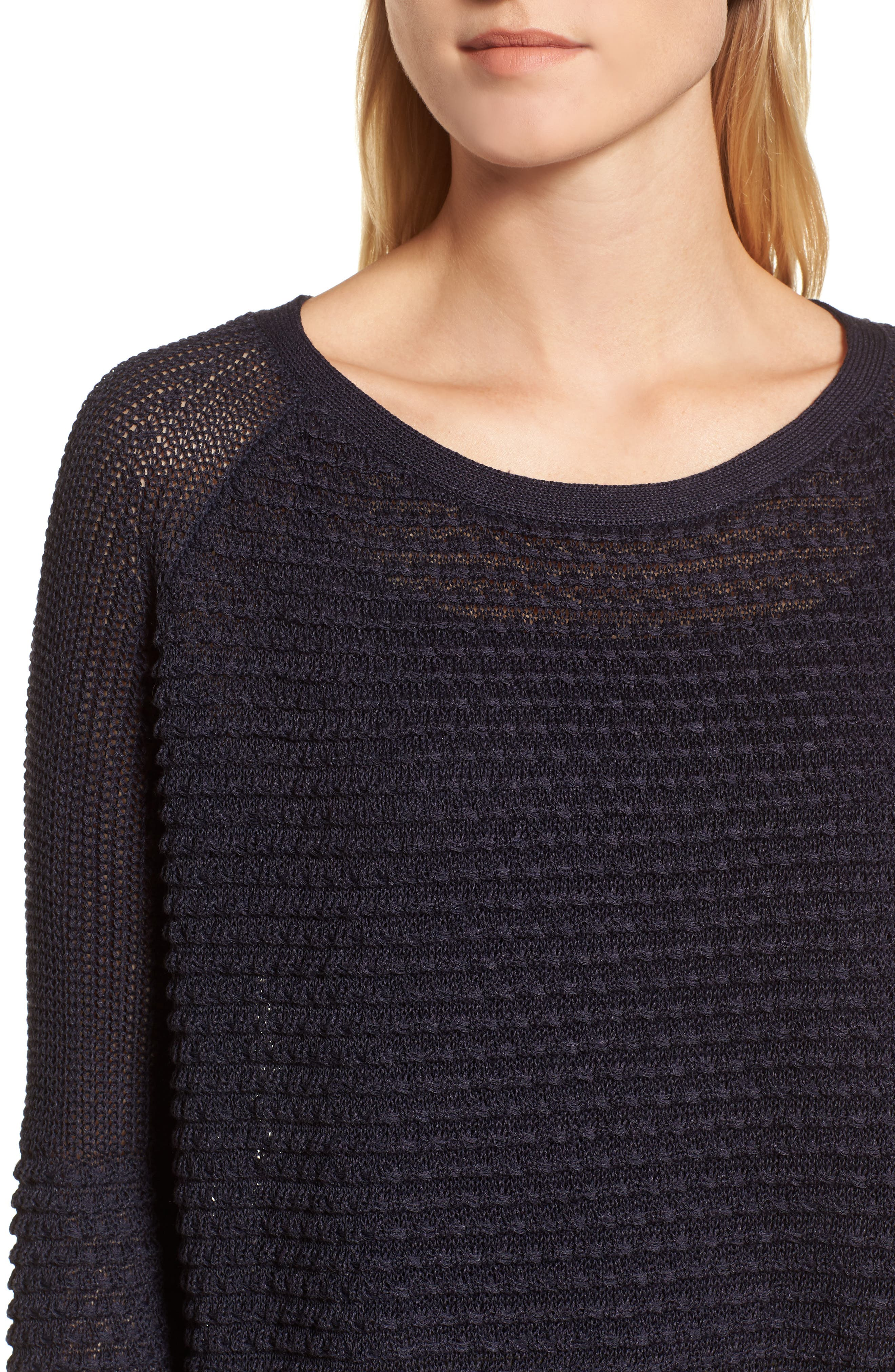 Mixed Stitch Sweater,                             Alternate thumbnail 4, color,                             410