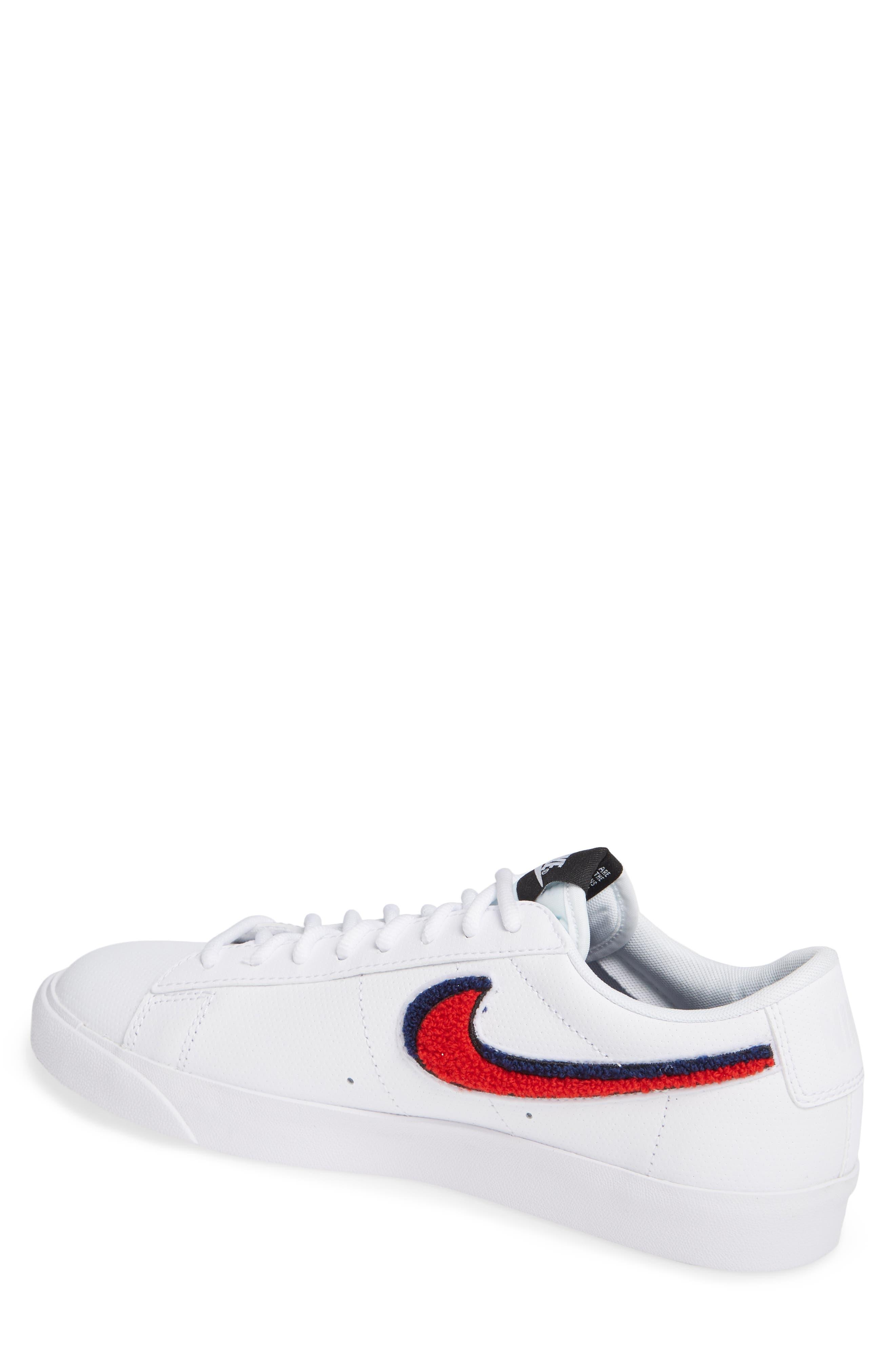 Blazer Low 3D Sneaker,                             Alternate thumbnail 2, color,                             100