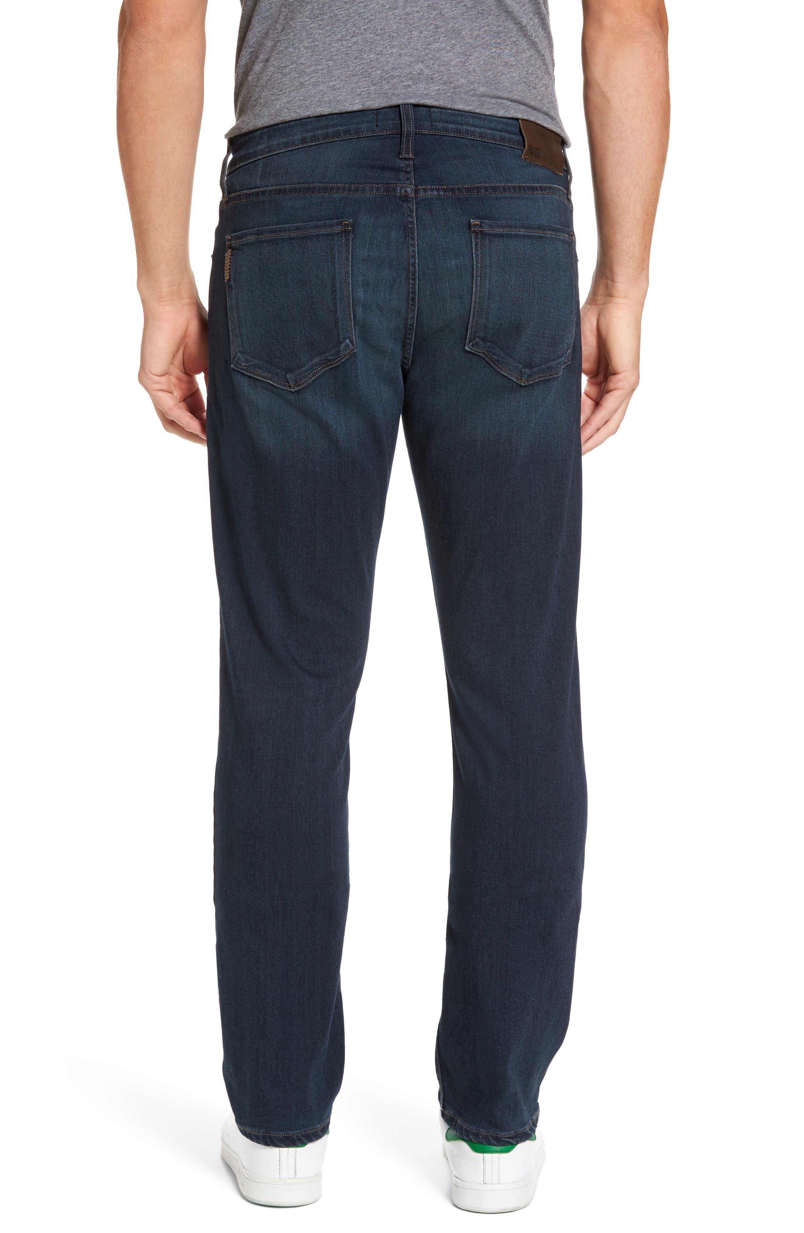 Normandie Straight Fit Jeans,                             Alternate thumbnail 2, color,                             400