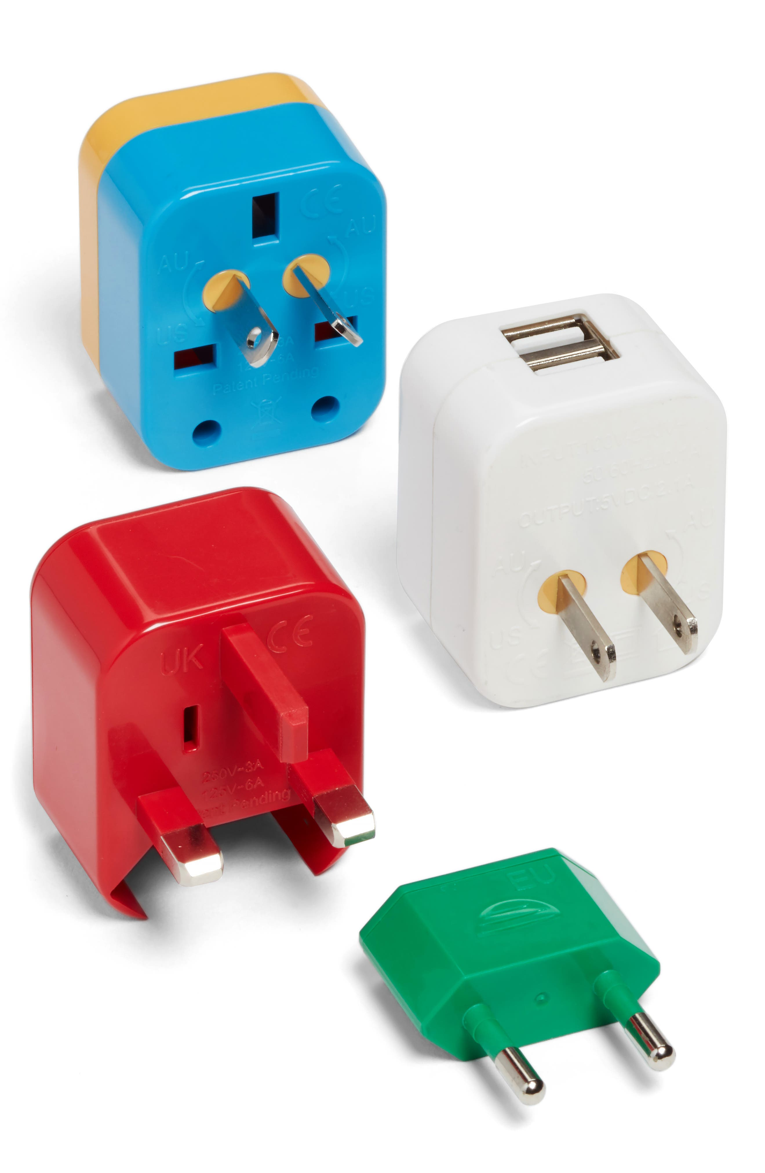5-in-1 Universal Travel Adapter,                             Alternate thumbnail 2, color,                             600