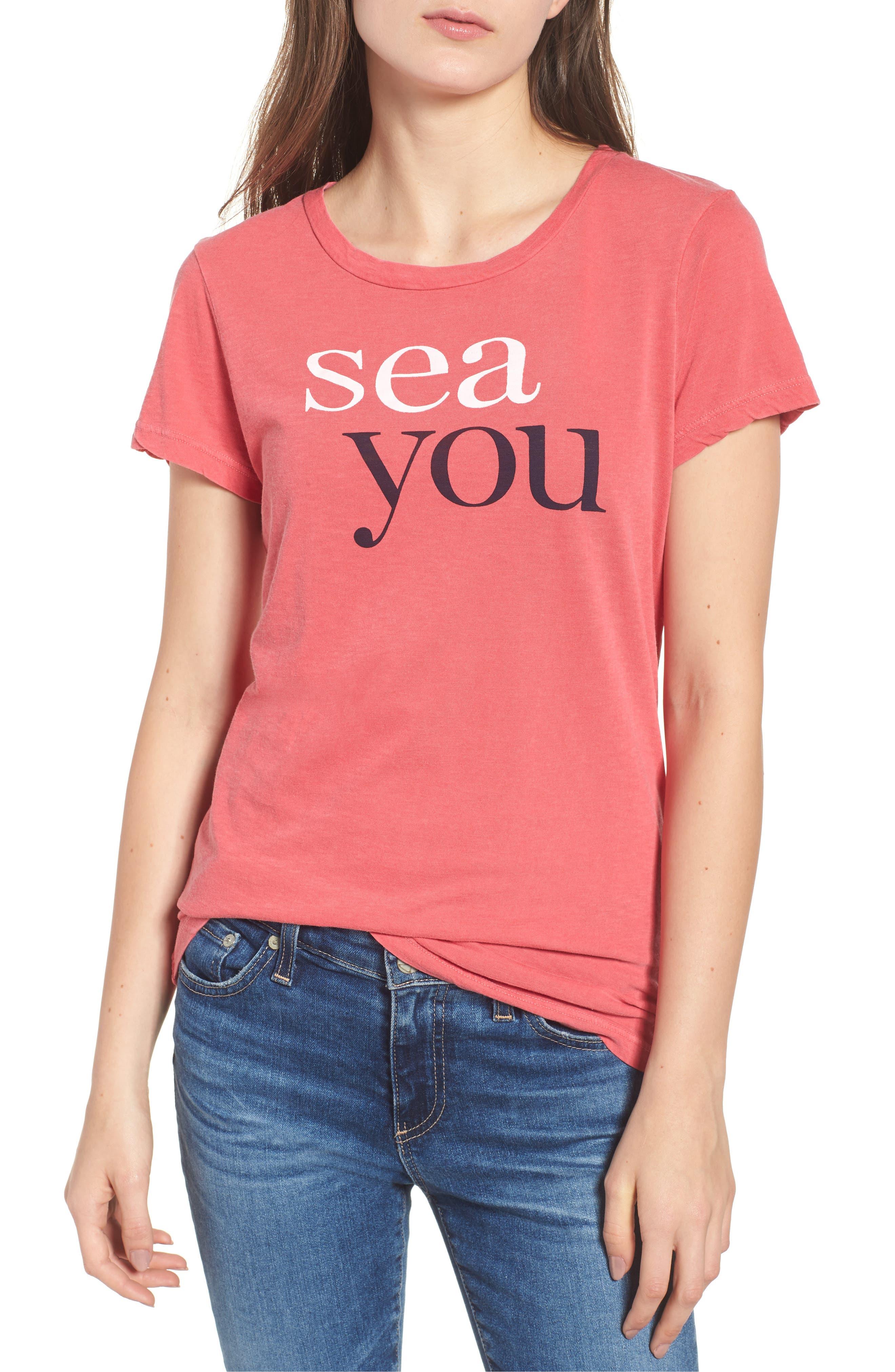 Sea You Tee,                             Main thumbnail 1, color,                             600