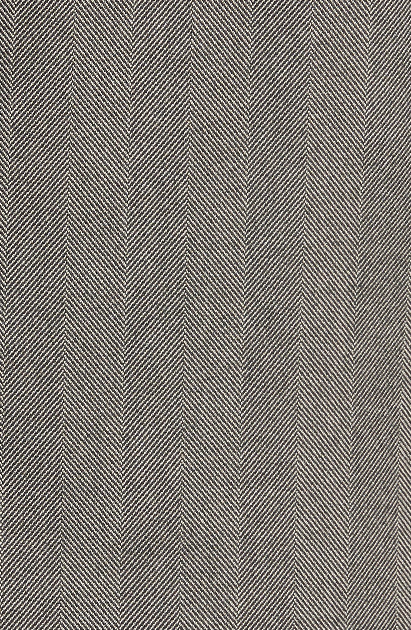 L.B.M 1911 Classic Fit Herringbone Cotton Sport Coat,                             Alternate thumbnail 6, color,                             TAUPE