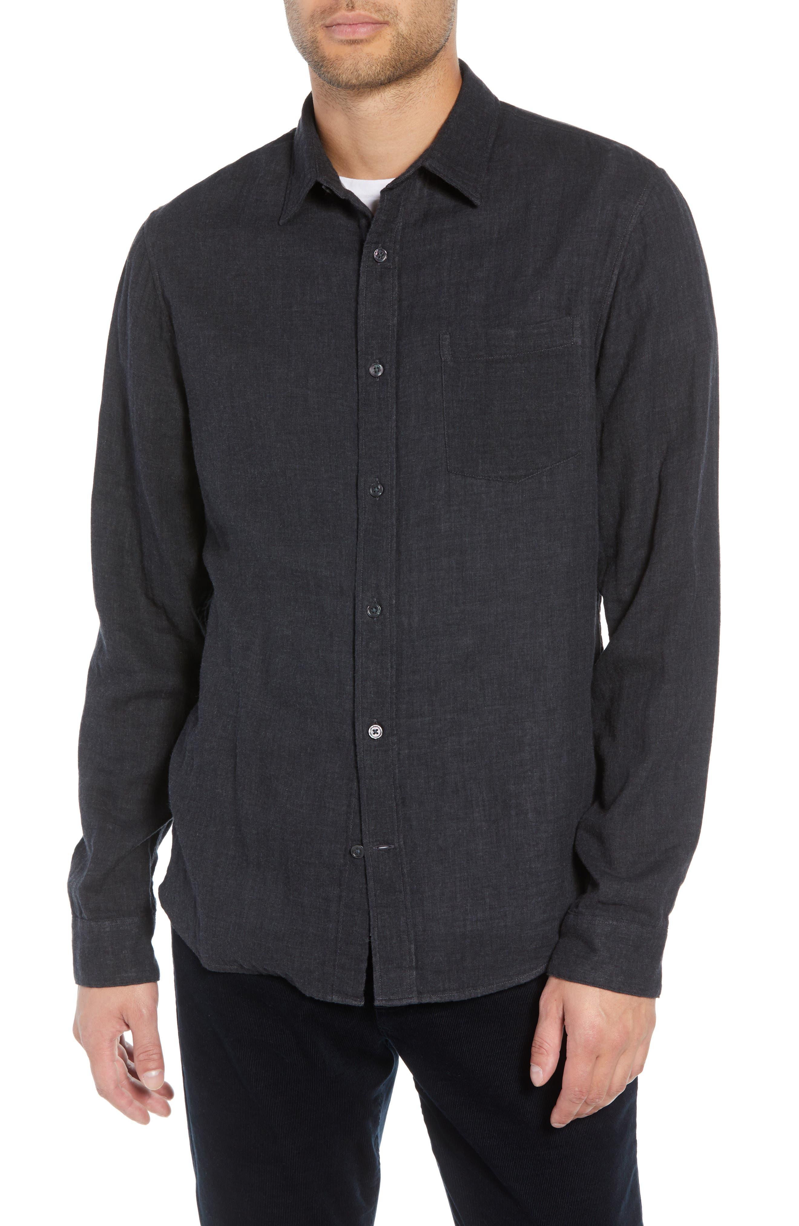 Classic Fit Double Knit Sport Shirt,                         Main,                         color, 008