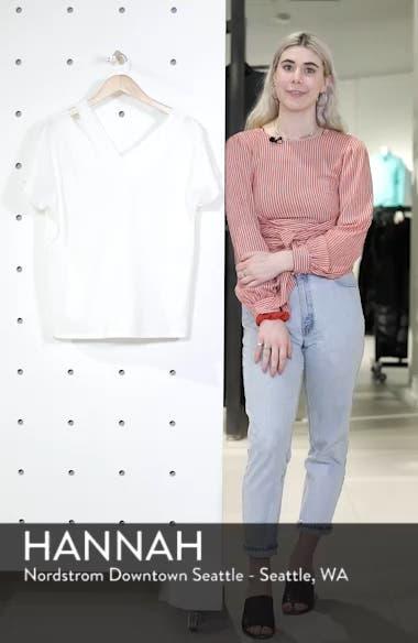 Asymmetrical Neckline Tee, sales video thumbnail