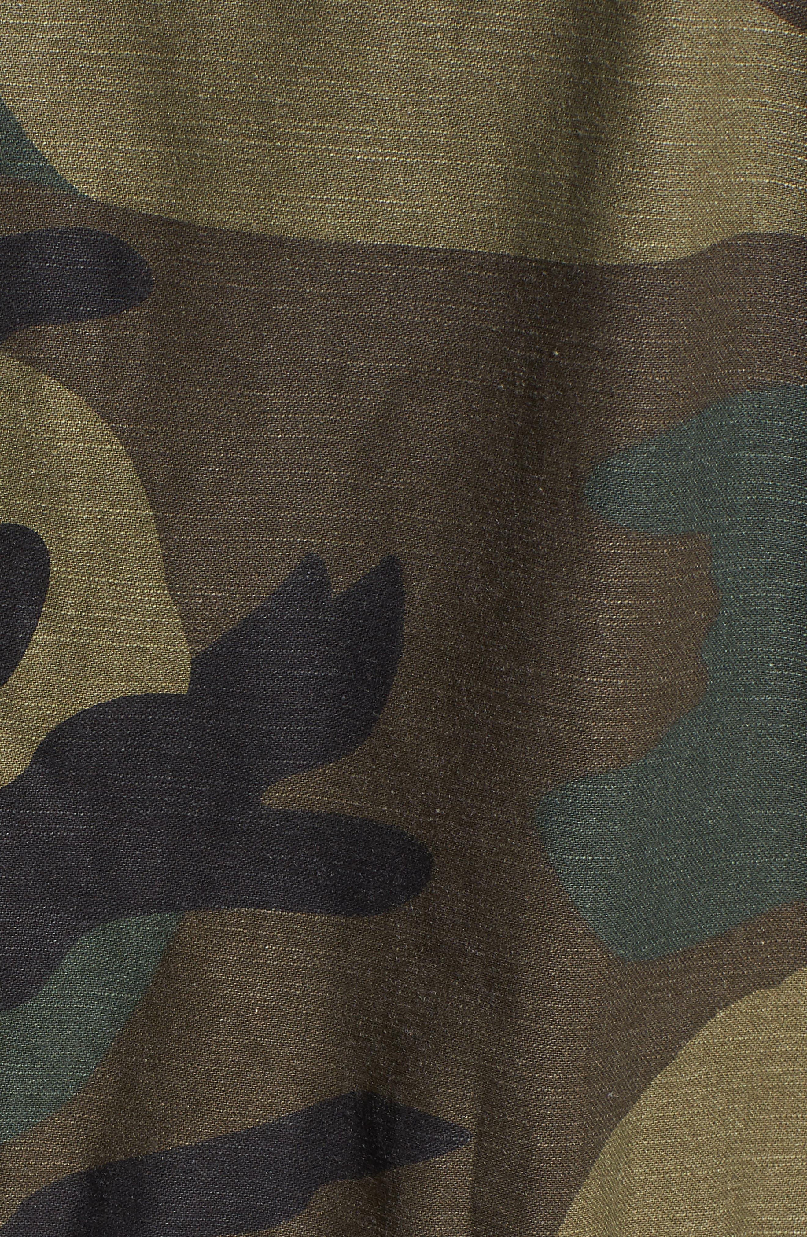 ALPHA INDUSTRIES,                             Meri Fishtail Hem Field Jacket,                             Alternate thumbnail 7, color,                             303