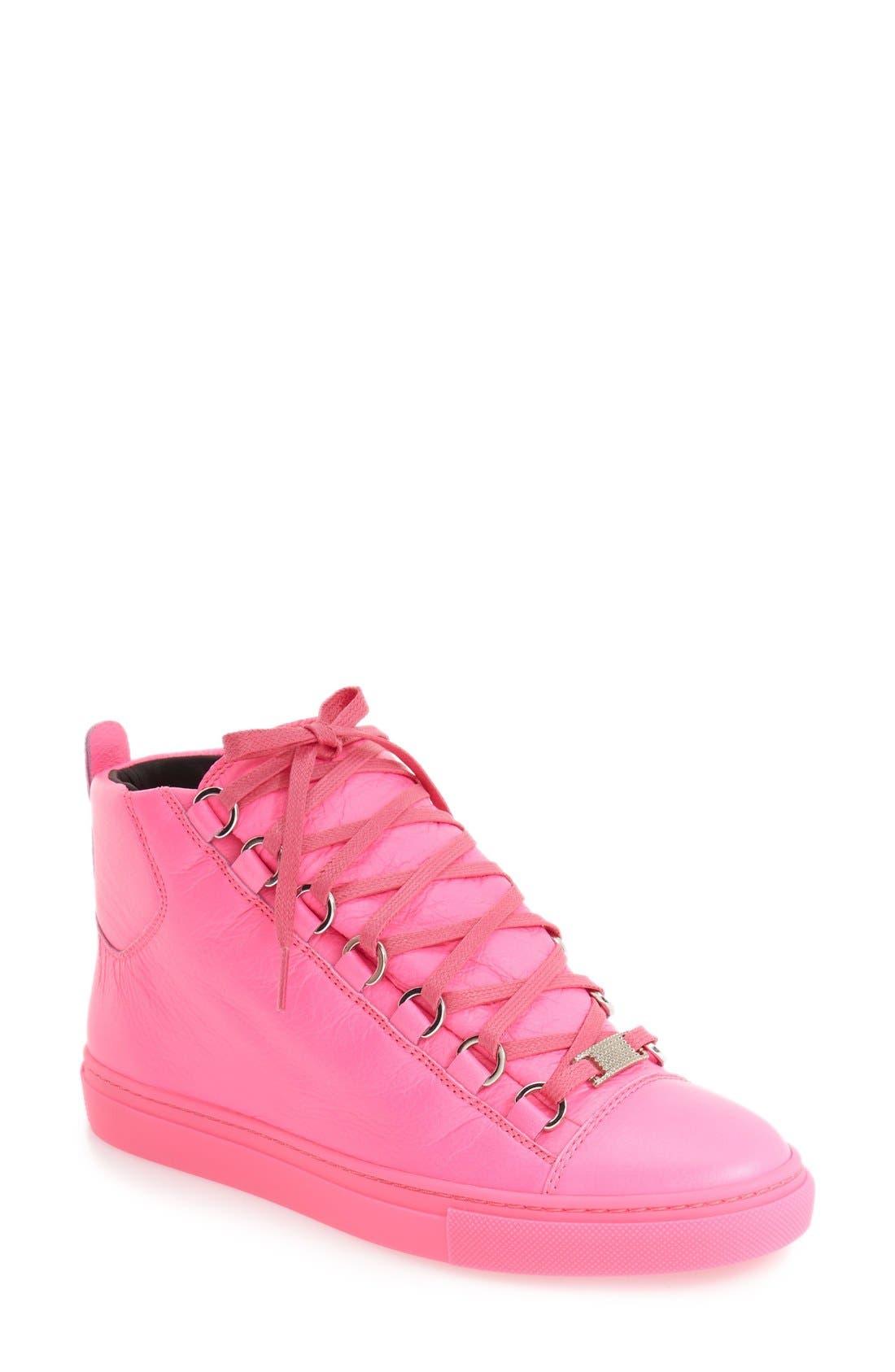 High Top Sneaker,                             Main thumbnail 6, color,