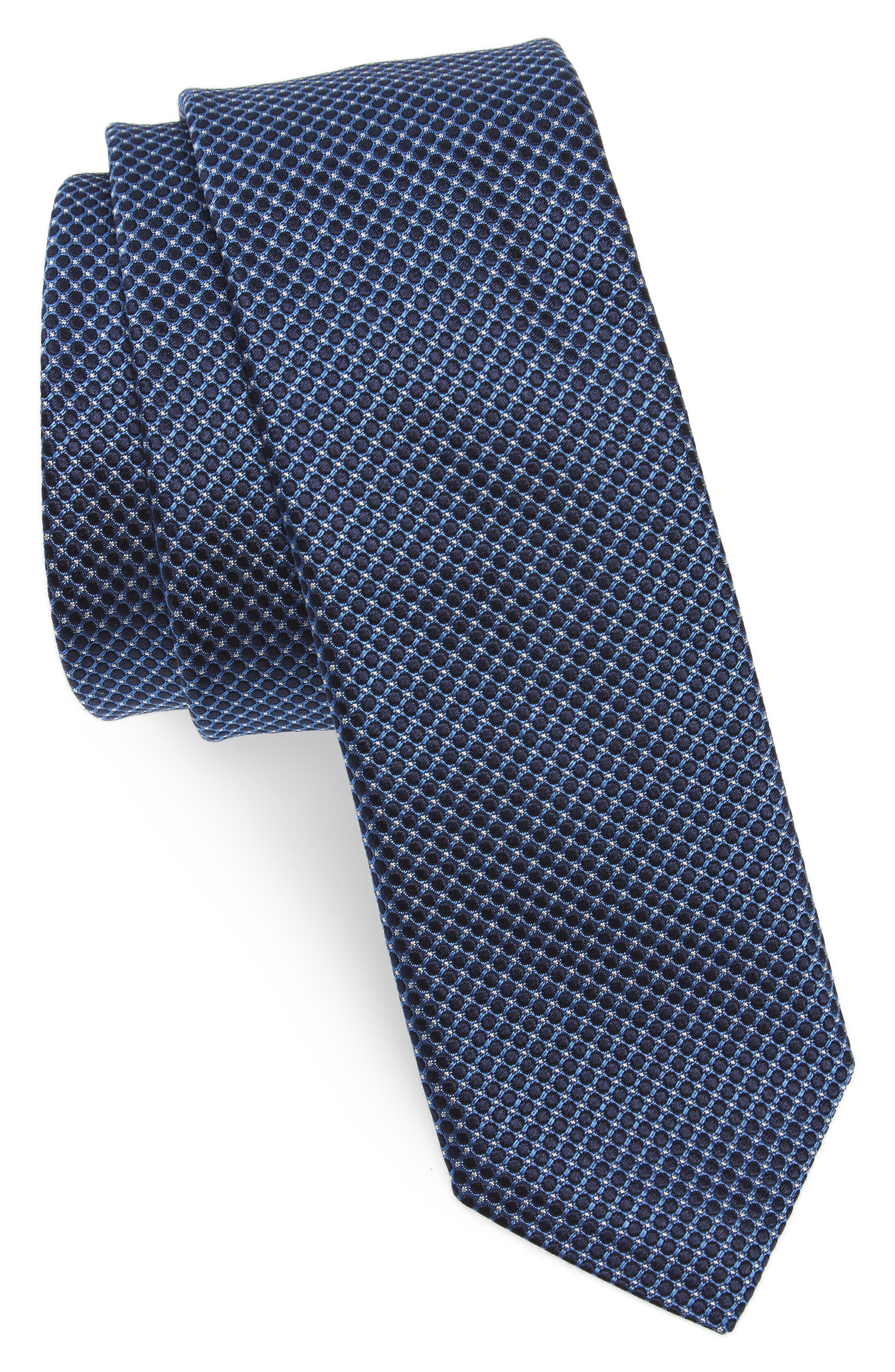 Check Silk Tie,                             Main thumbnail 1, color,                             473
