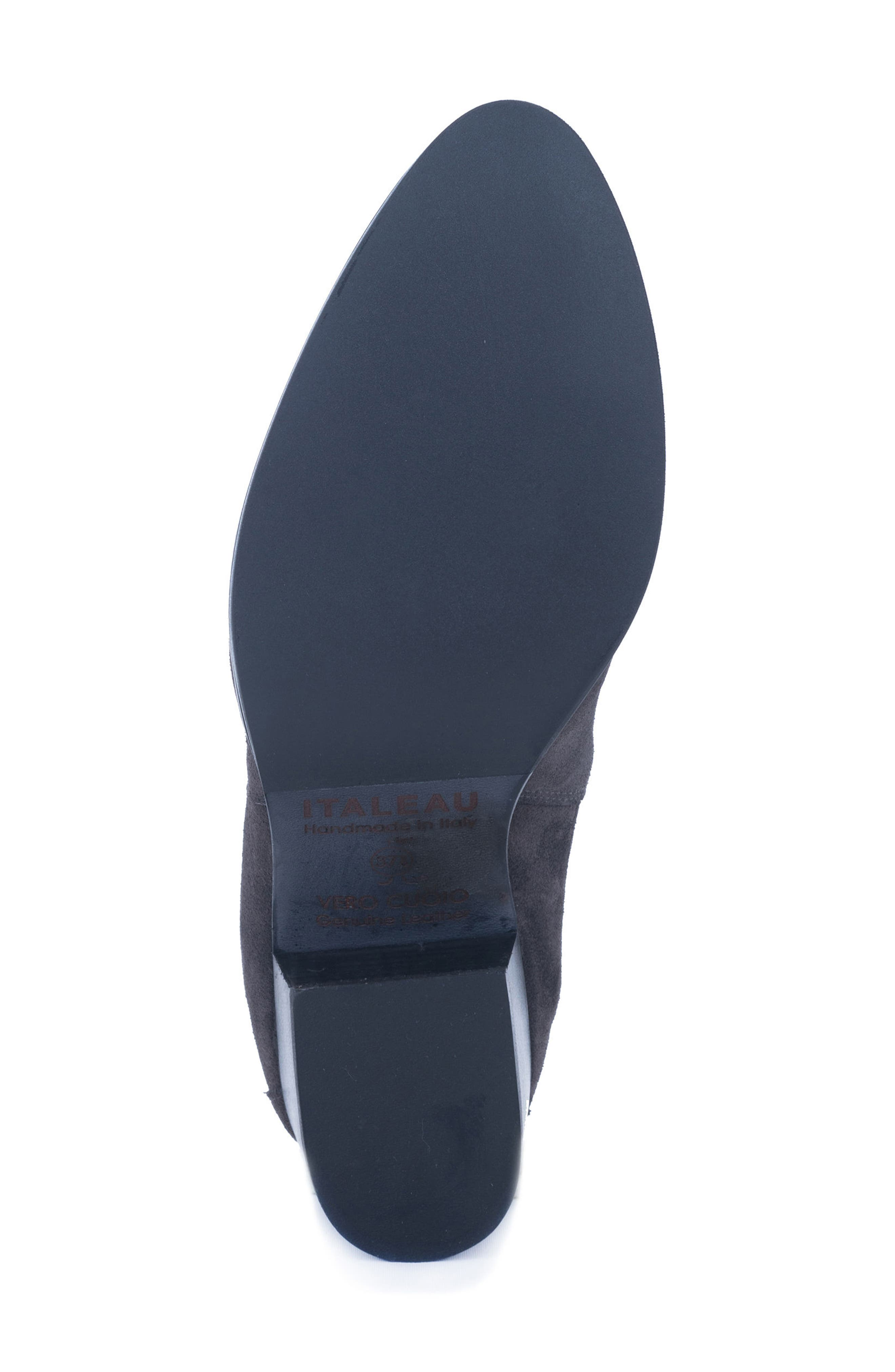 Corsini Water-Resistant Pull On Bootie,                             Alternate thumbnail 5, color,                             033